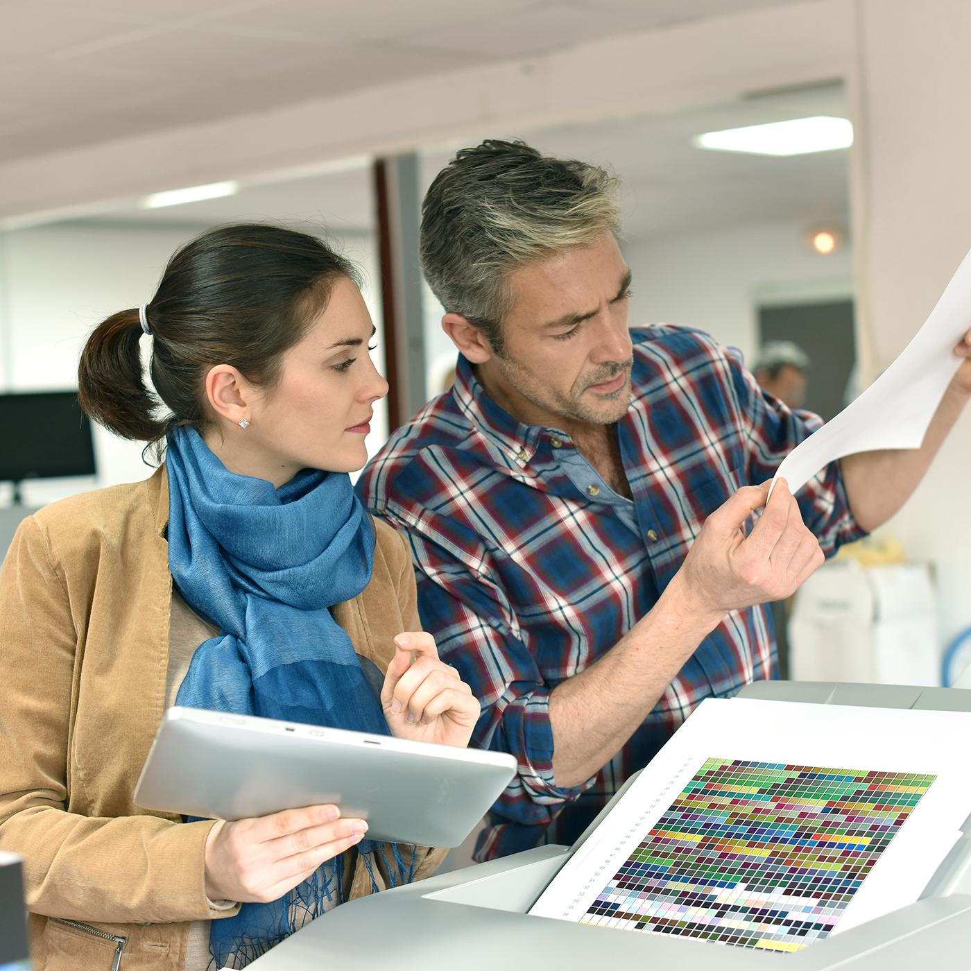 Printing & Customer Service -