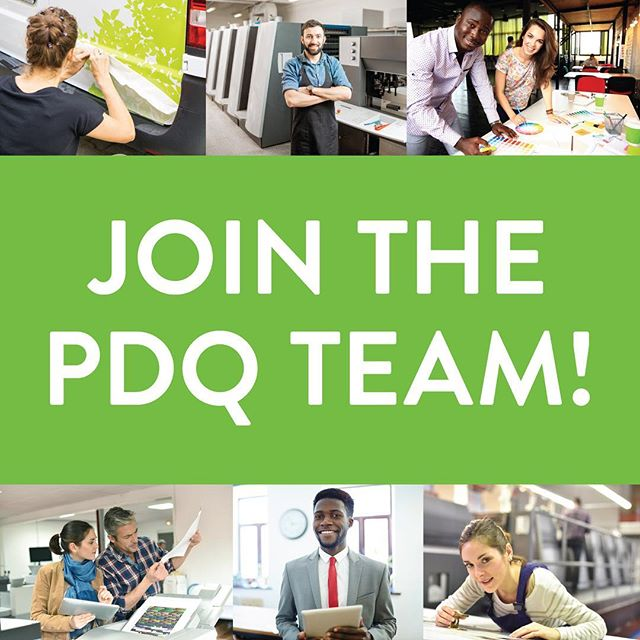 We are looking for someone to join the PDQ team at our New Paltz shop.  If you want a new experience in a fast-paced environment, where you get to work on a wide assortment of print projects, check out pdqprints.com/apply. (link in profile)  #printing #graphicdesign #signs #hudsonvalley #digital #job #hiring #canon #mimaki