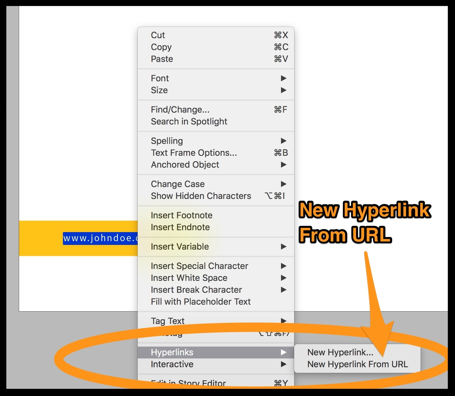 Hyperlinking doesn't work in InDesign... help! - Trouble setting up your hyperlink.  Another way to do this is to select, then right-click on your url and choose Hyperlinks>New Hyperlink From URL.
