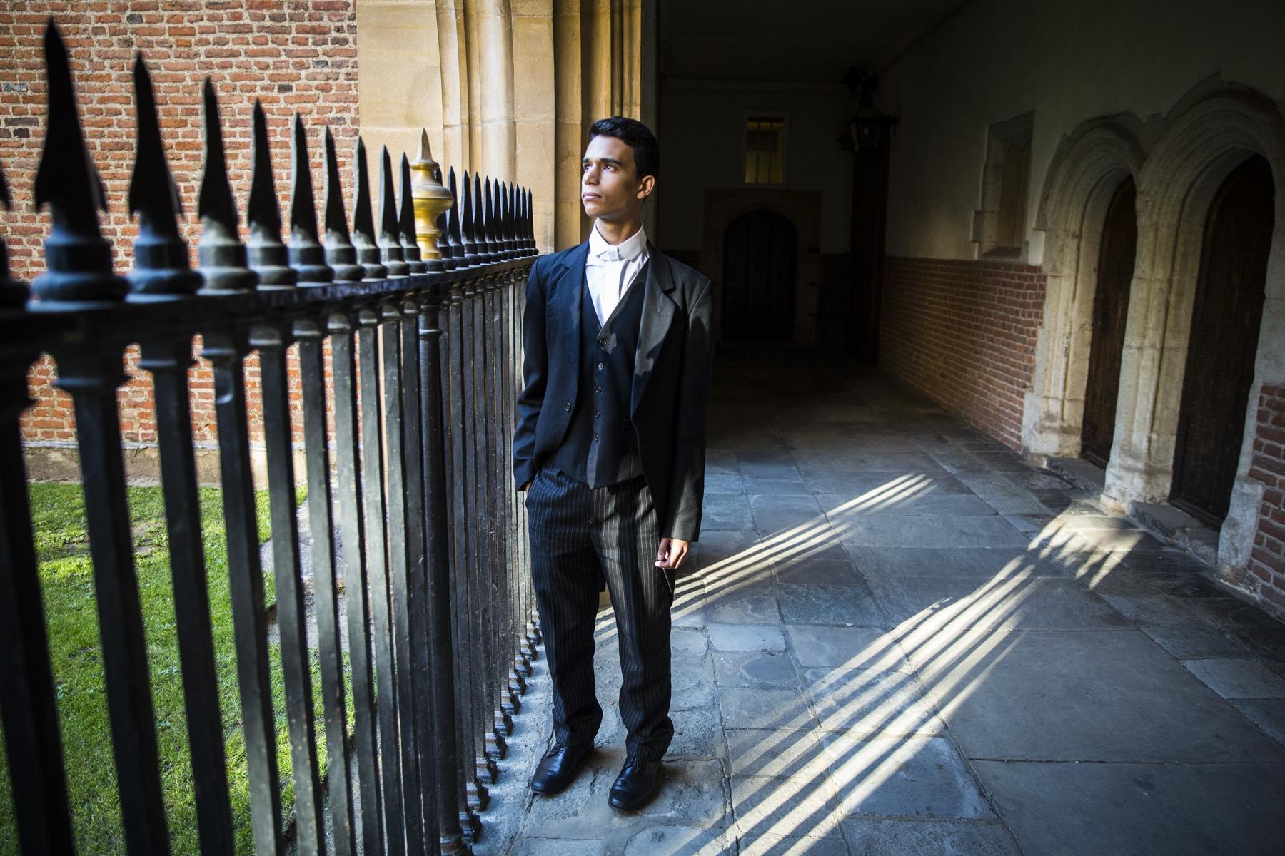 Ammar Mustapha, Eton College