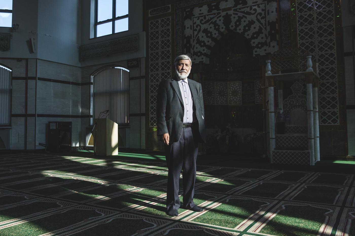 Abdul M. Choudhuri, Chairman of the Faizan-e-Madinah Masjid