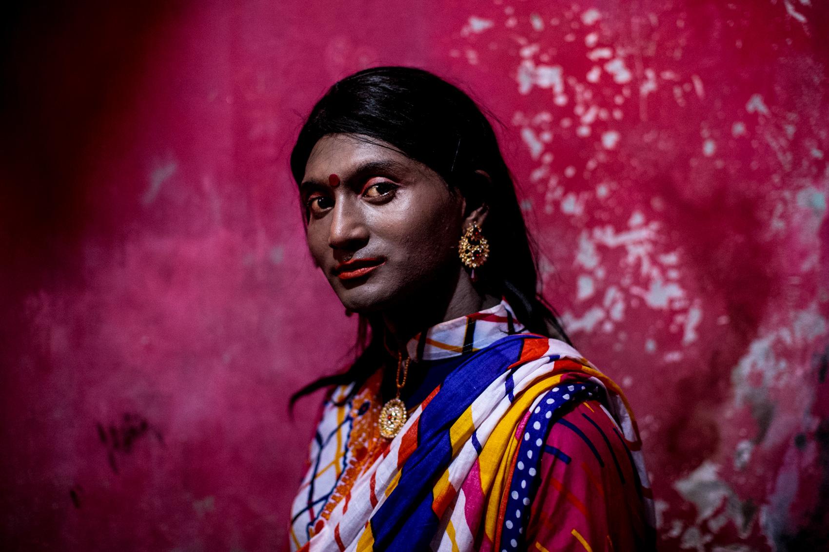 DHAKA, BANGLADESH: Aupurbo Hijra, age 29