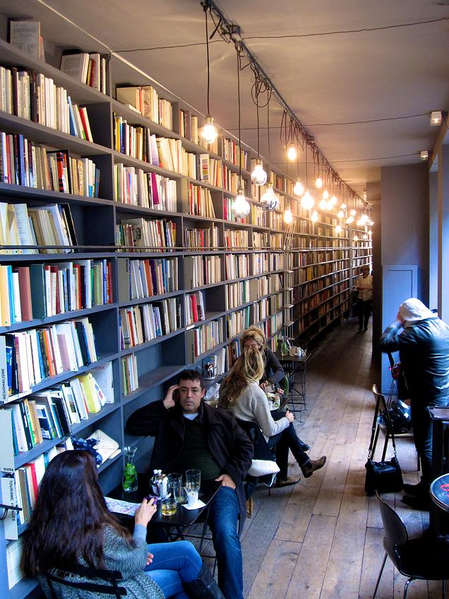 {The Library and Café at Merci}