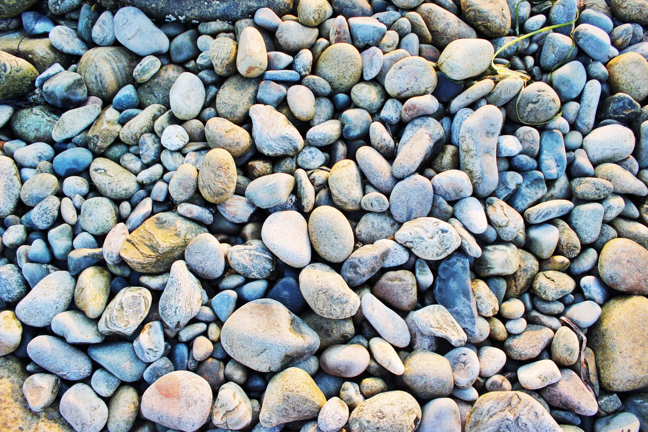 {Beautiful pebbles}