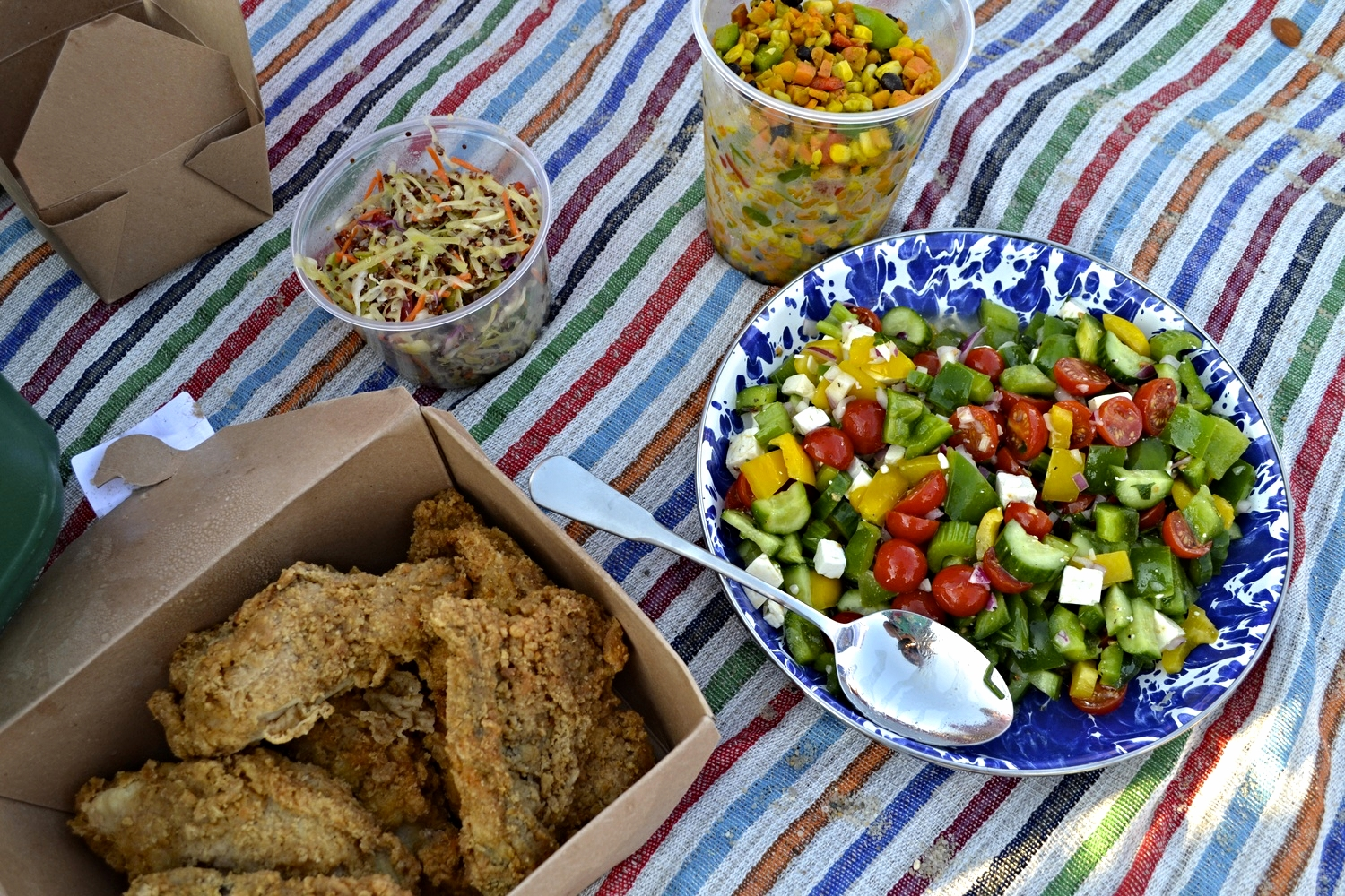 {Our spread, mostly courtesy of Bartlett's Farm}