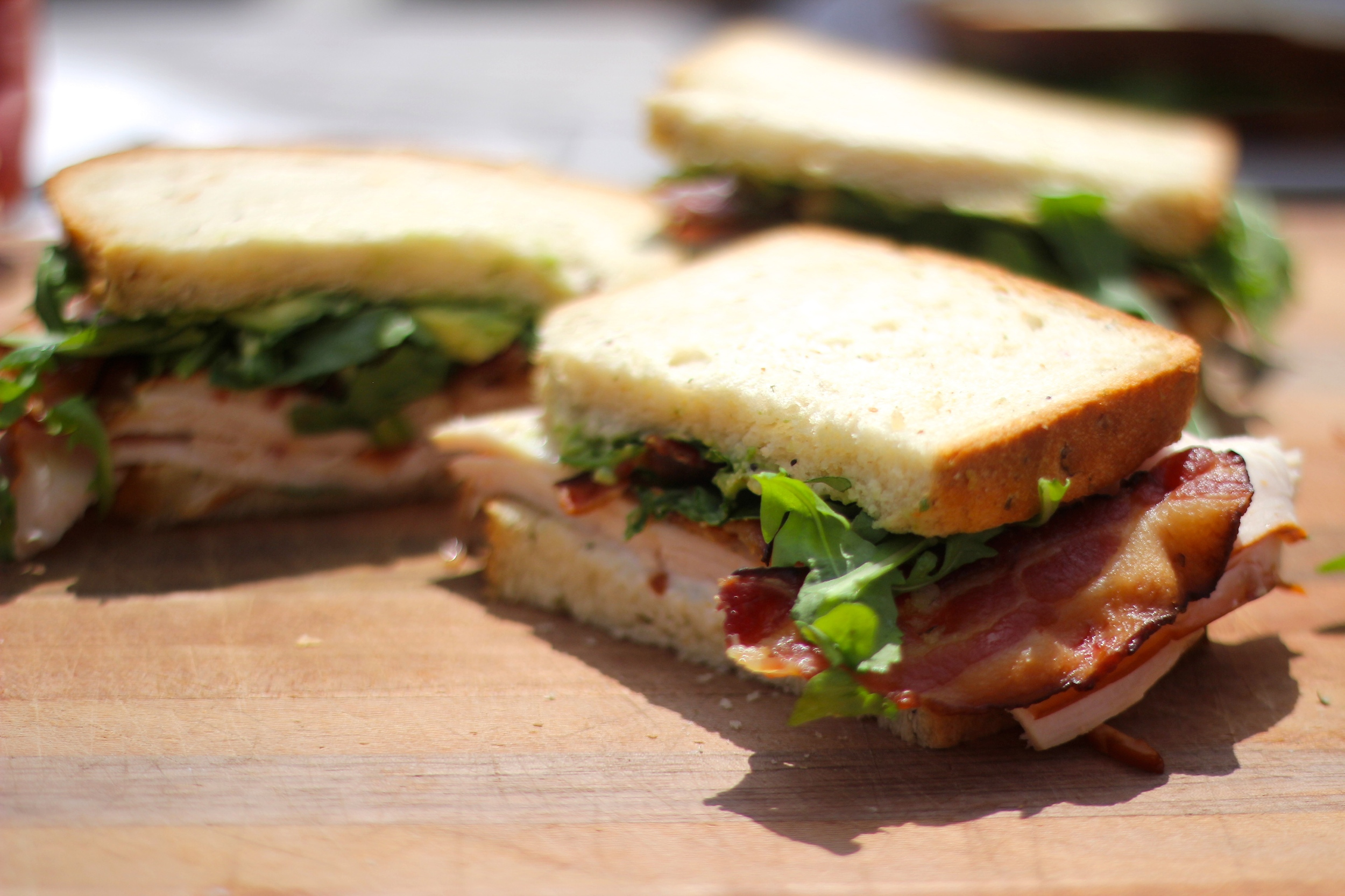 {With some sandwiches from  Provisions }