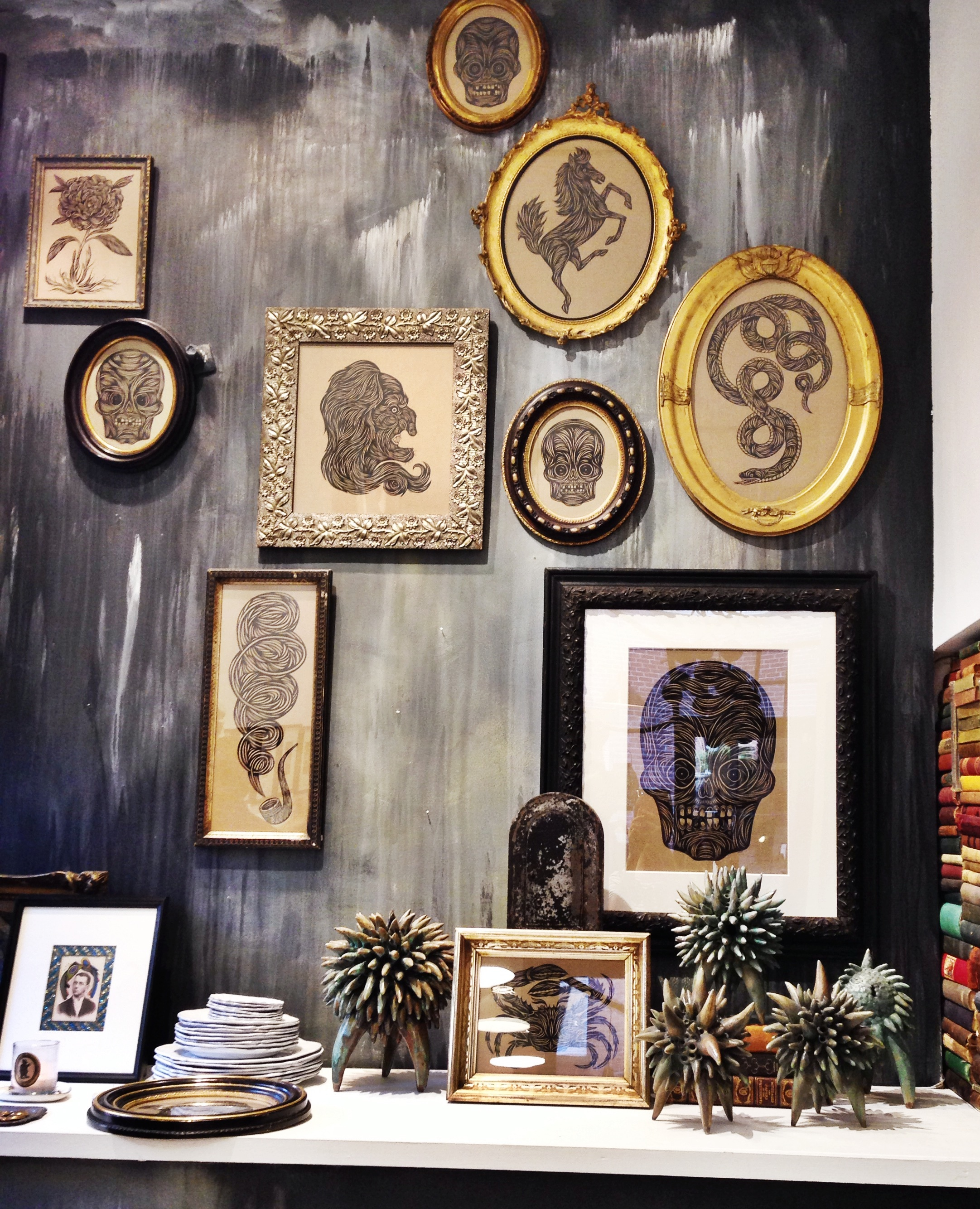 {Awesome wall art at Patch}