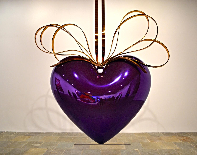 Hanging Heart (Violet/Gold), 1994-2006