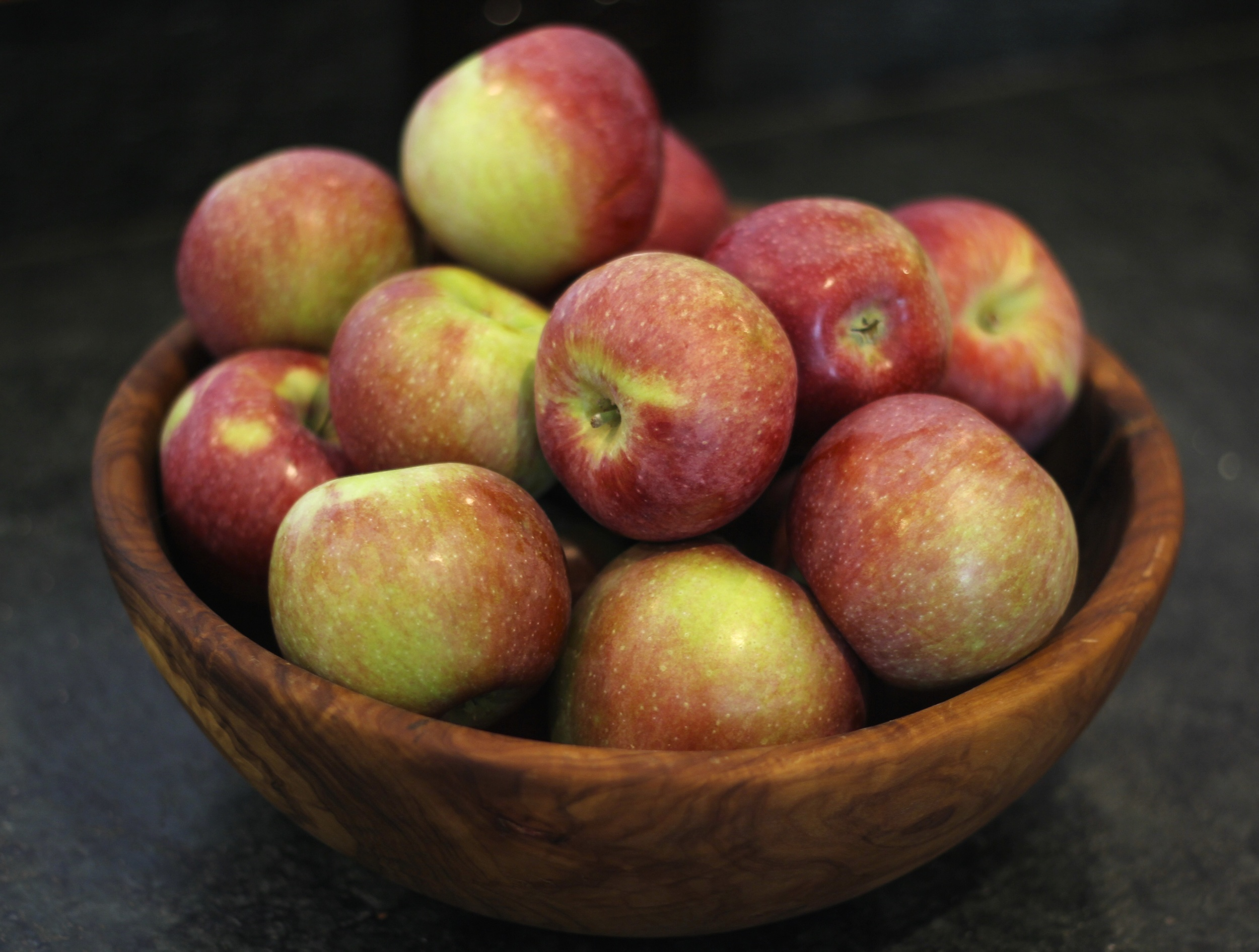 {Local apples of course}