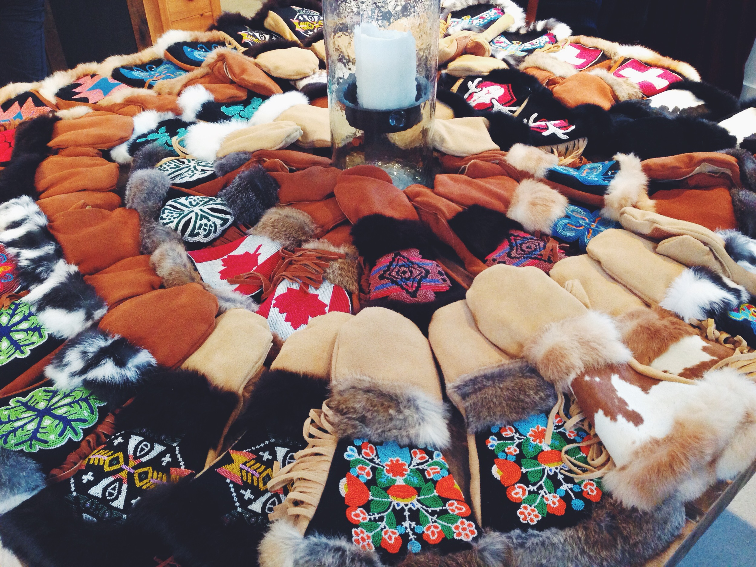 {I don't know when or where I would wear these mittensbut I think I still need them}