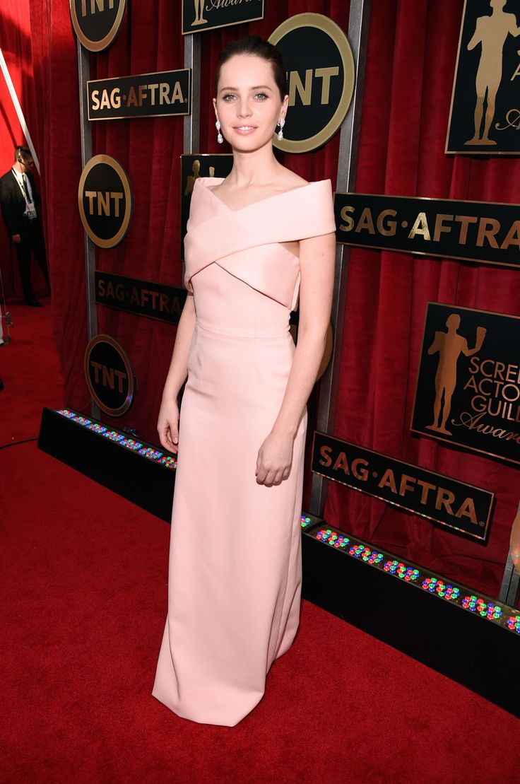 {Felicity Jones in Balenciaga}
