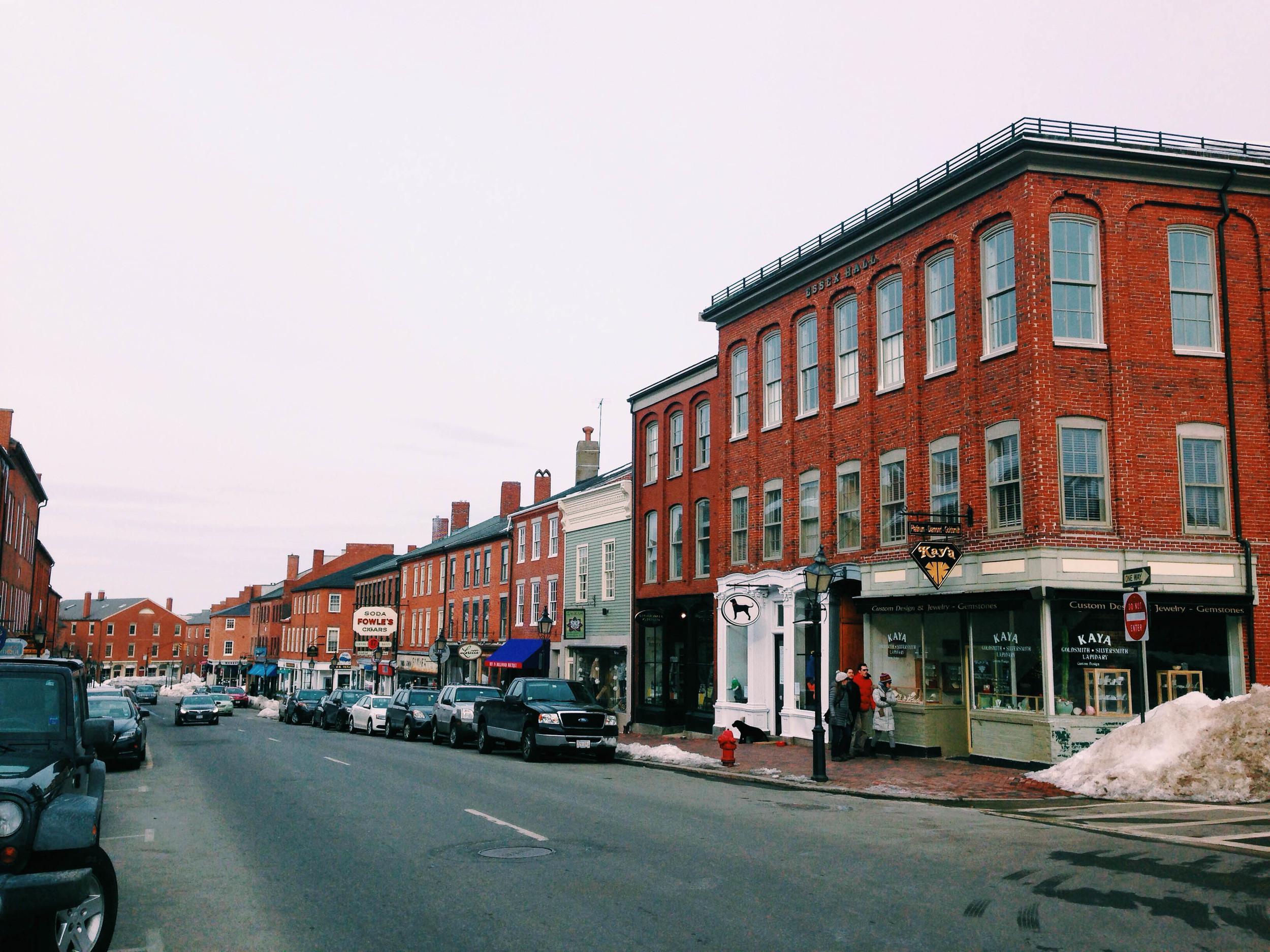 {Beautiful Newburyport streets}