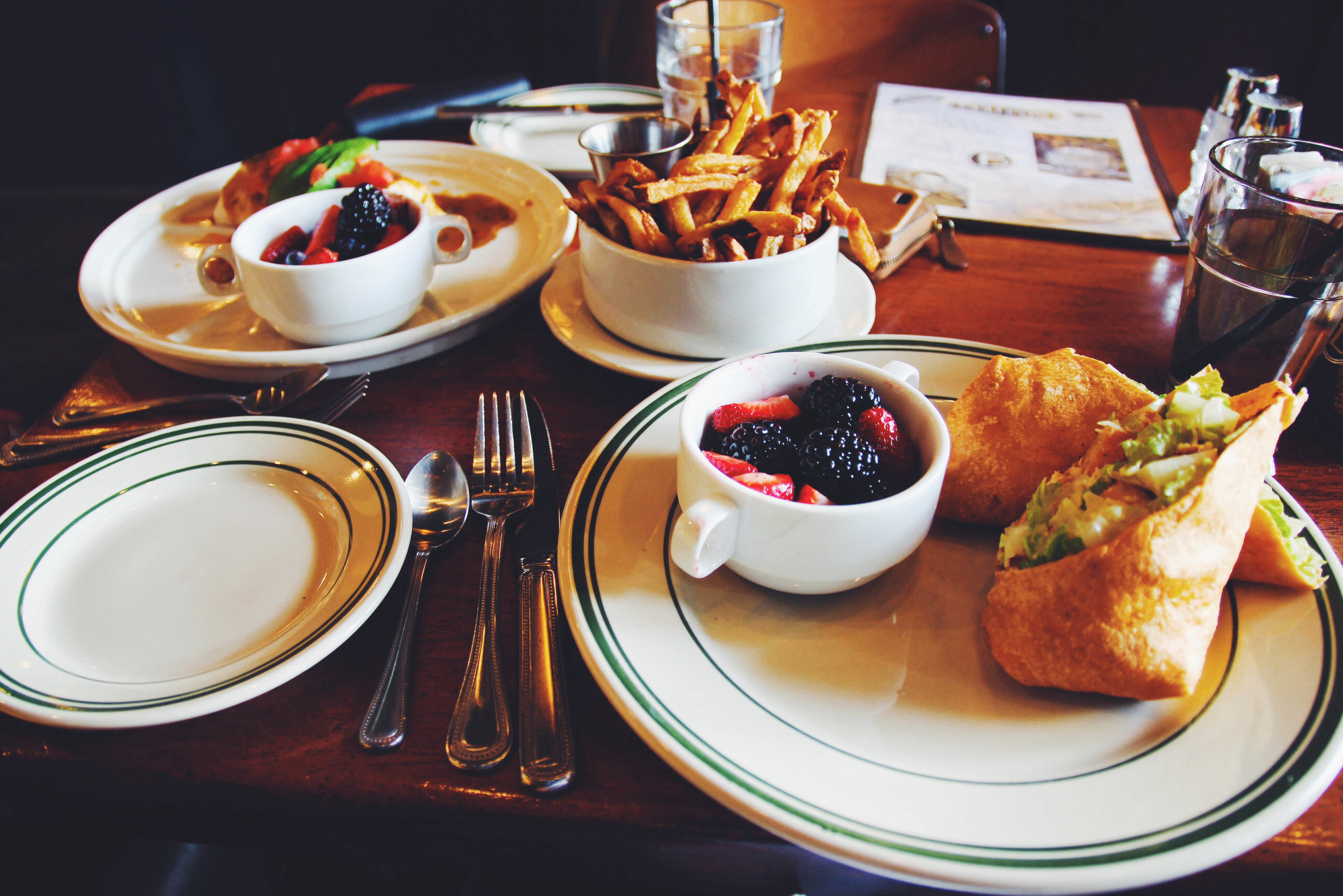 {Lunch at Ted's Bulletin}