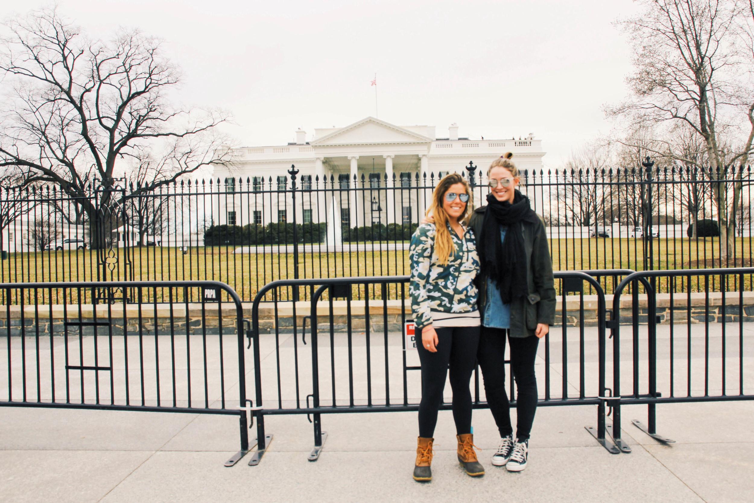 {Visiting Barack's house}