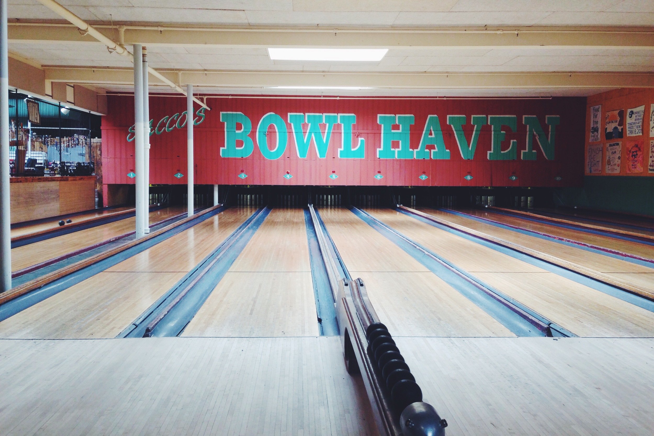 {A lazy afternoon of bowling in Somerville- such a great spot}