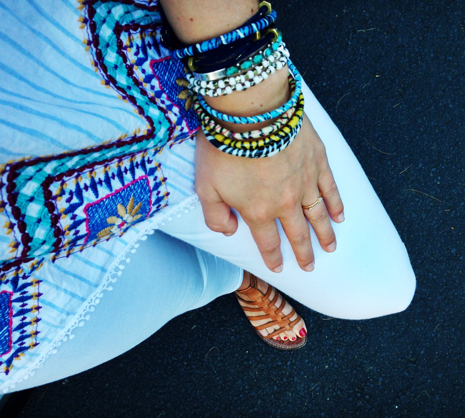 {A classic summer outfit from last week}