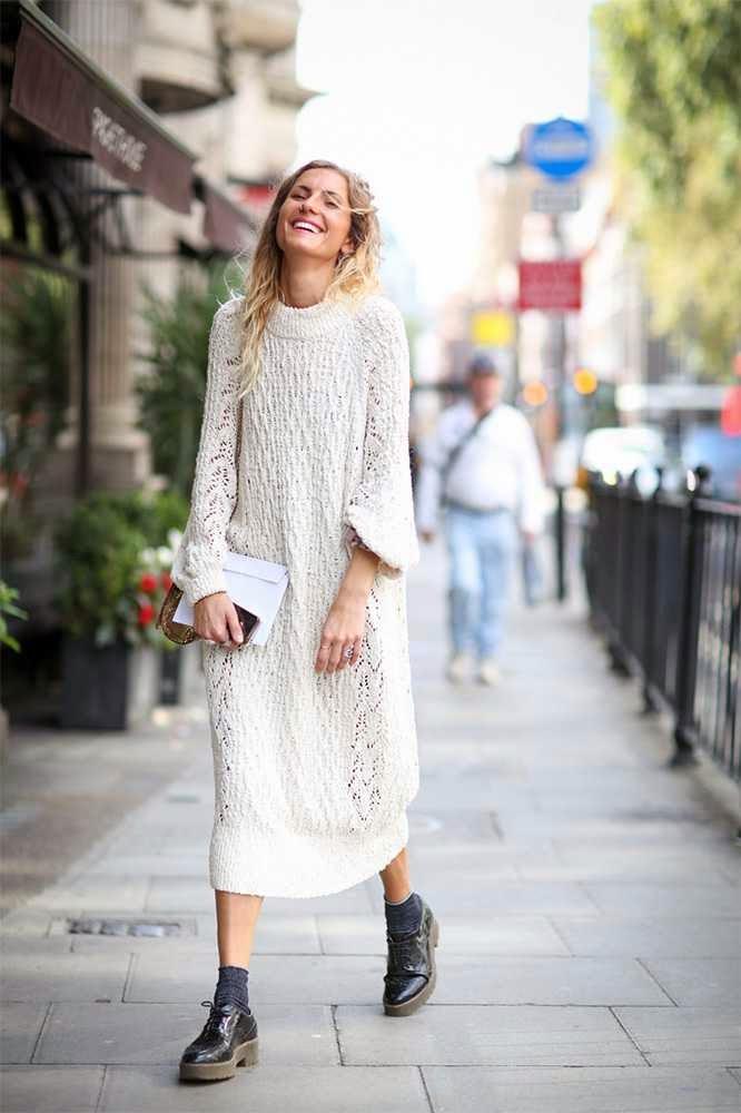 Isabel Austin-H&M dress-Milly bag-Office shoes-street style-london fashion week-ss15.jpg