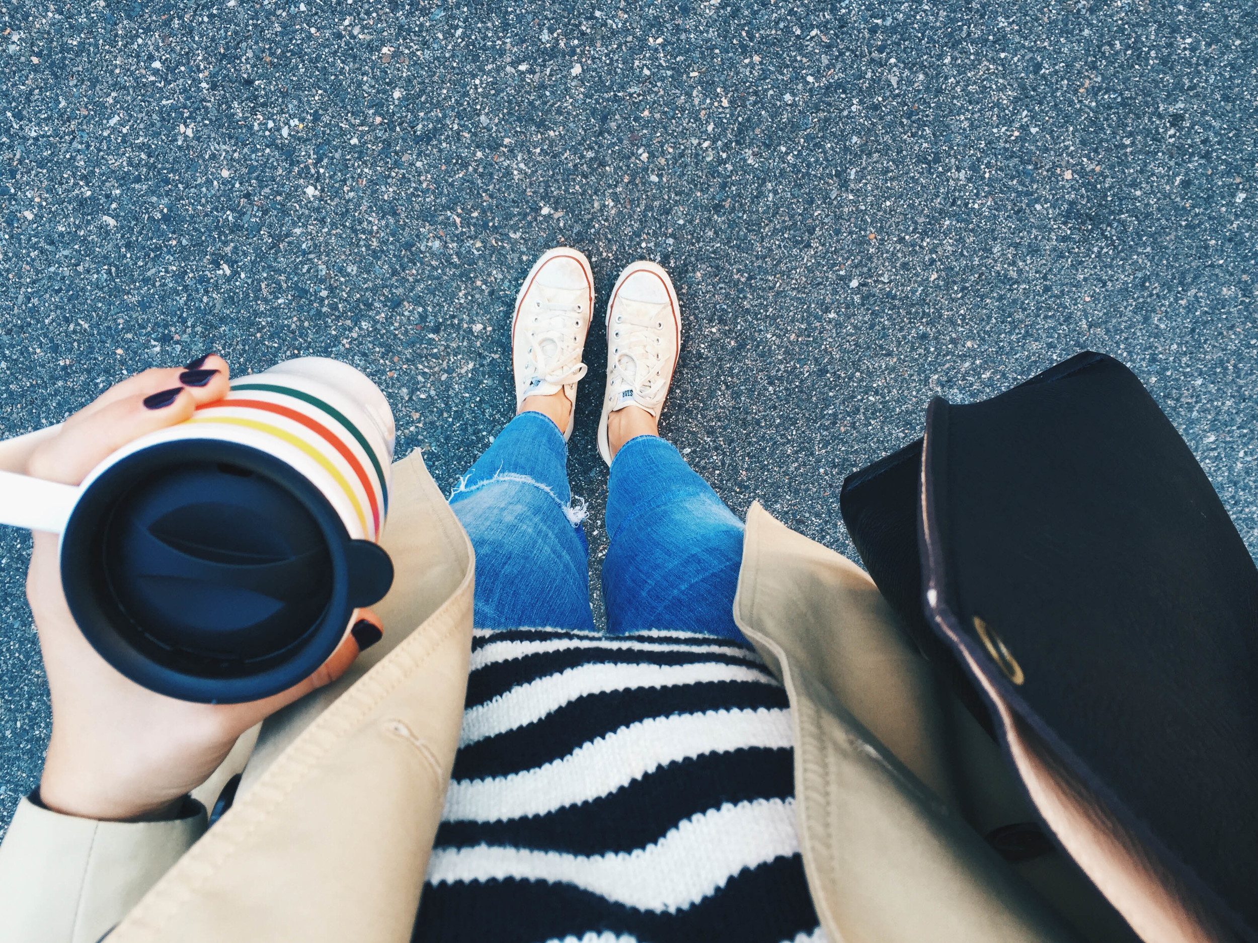 {Clearly I was feeling the stripes last week}