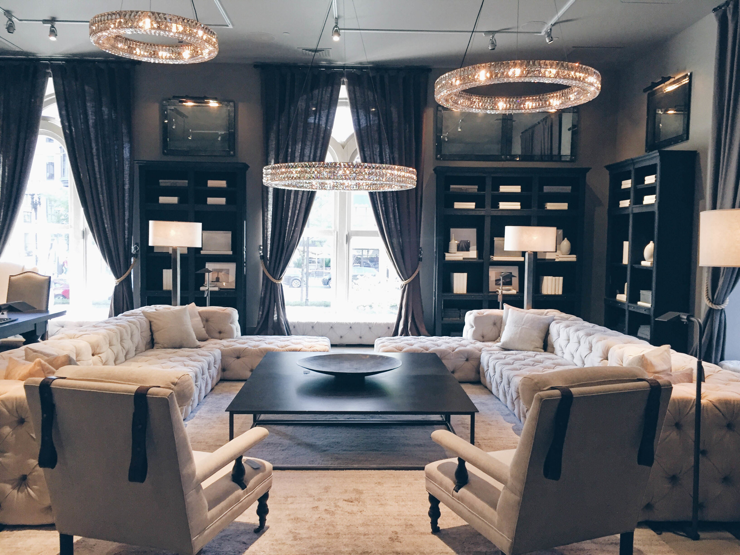 {So the Restoration Hardware Showroom is pretty insane.....}