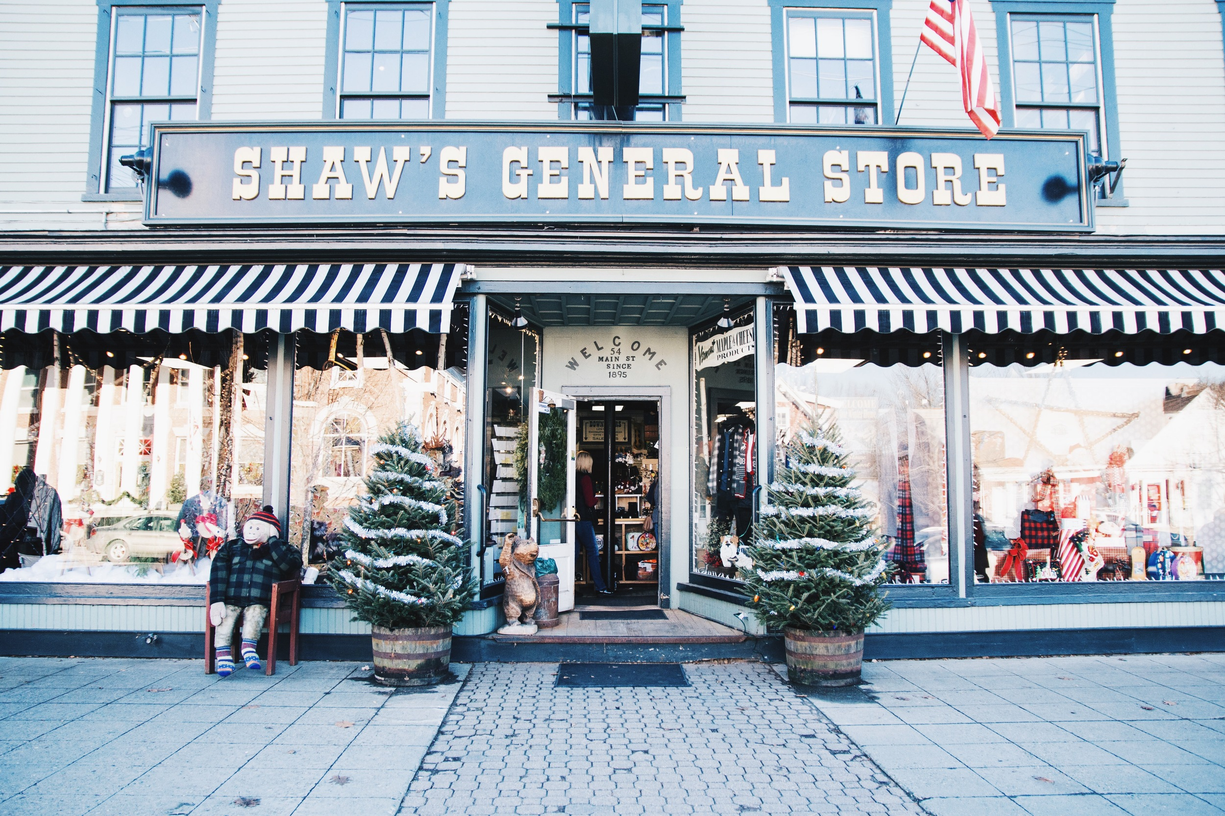 The Stowe general store.
