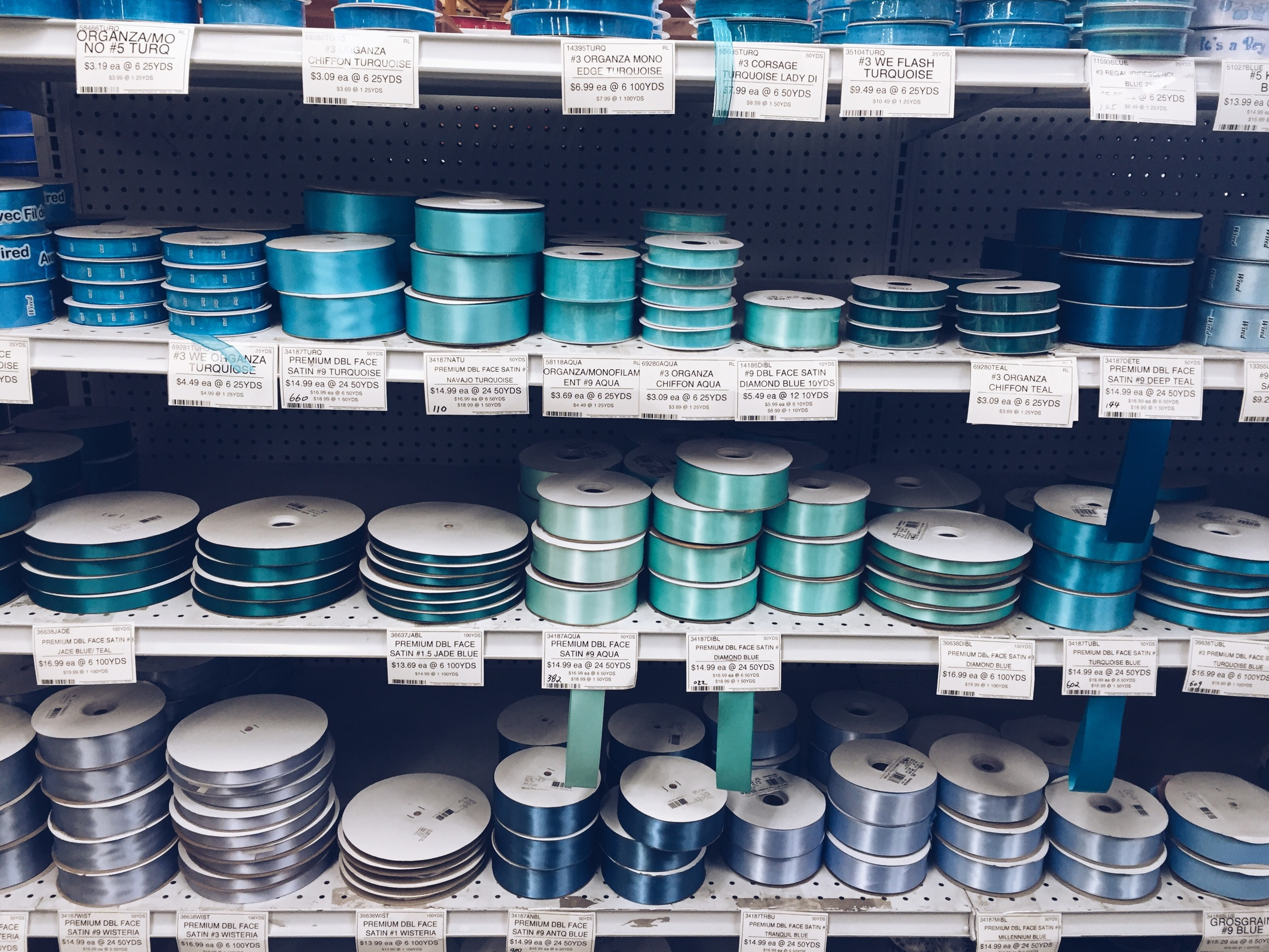 {You can never have too much ribbon}