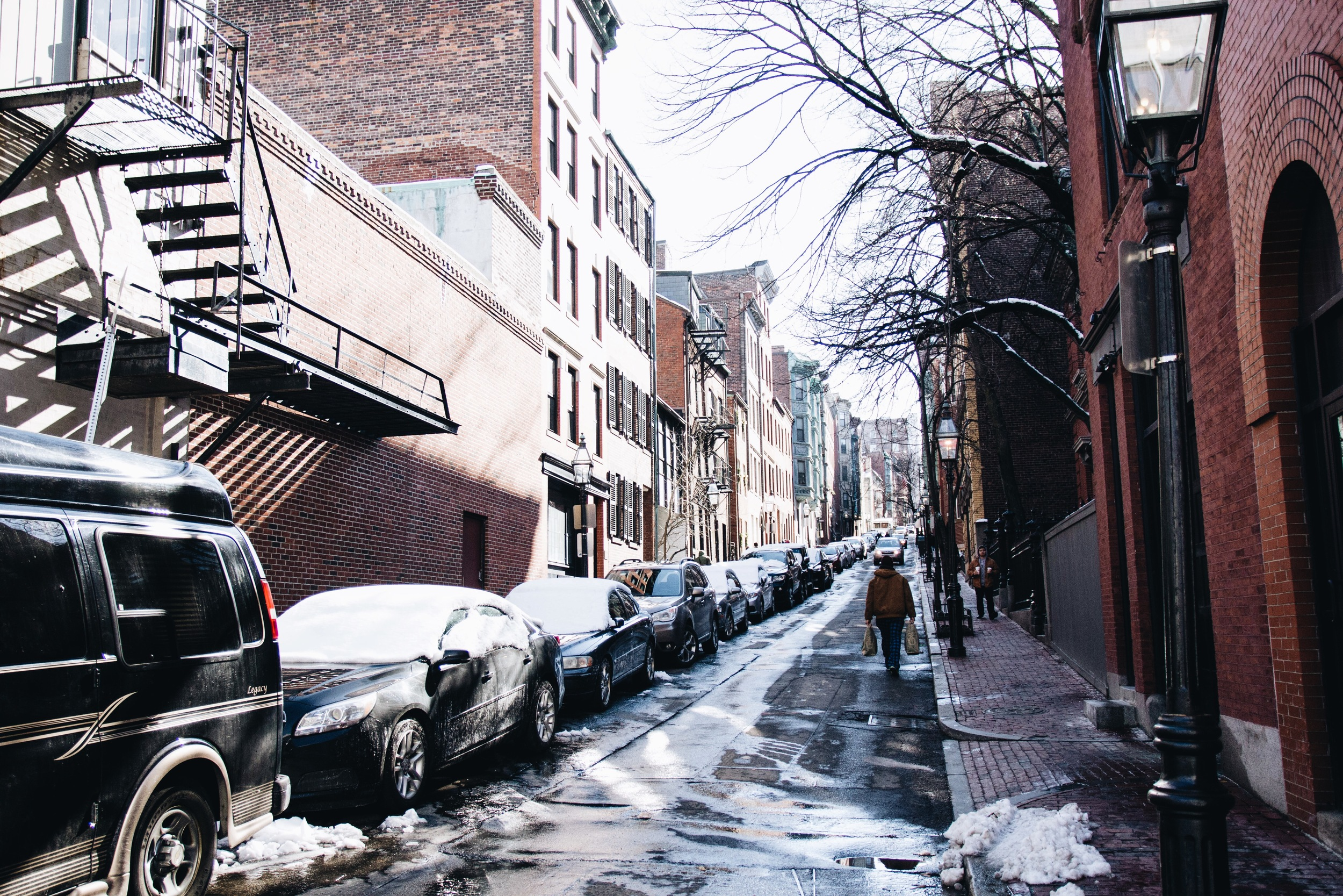 {Beacon Hill has been like a beautiful snow globe this past week}