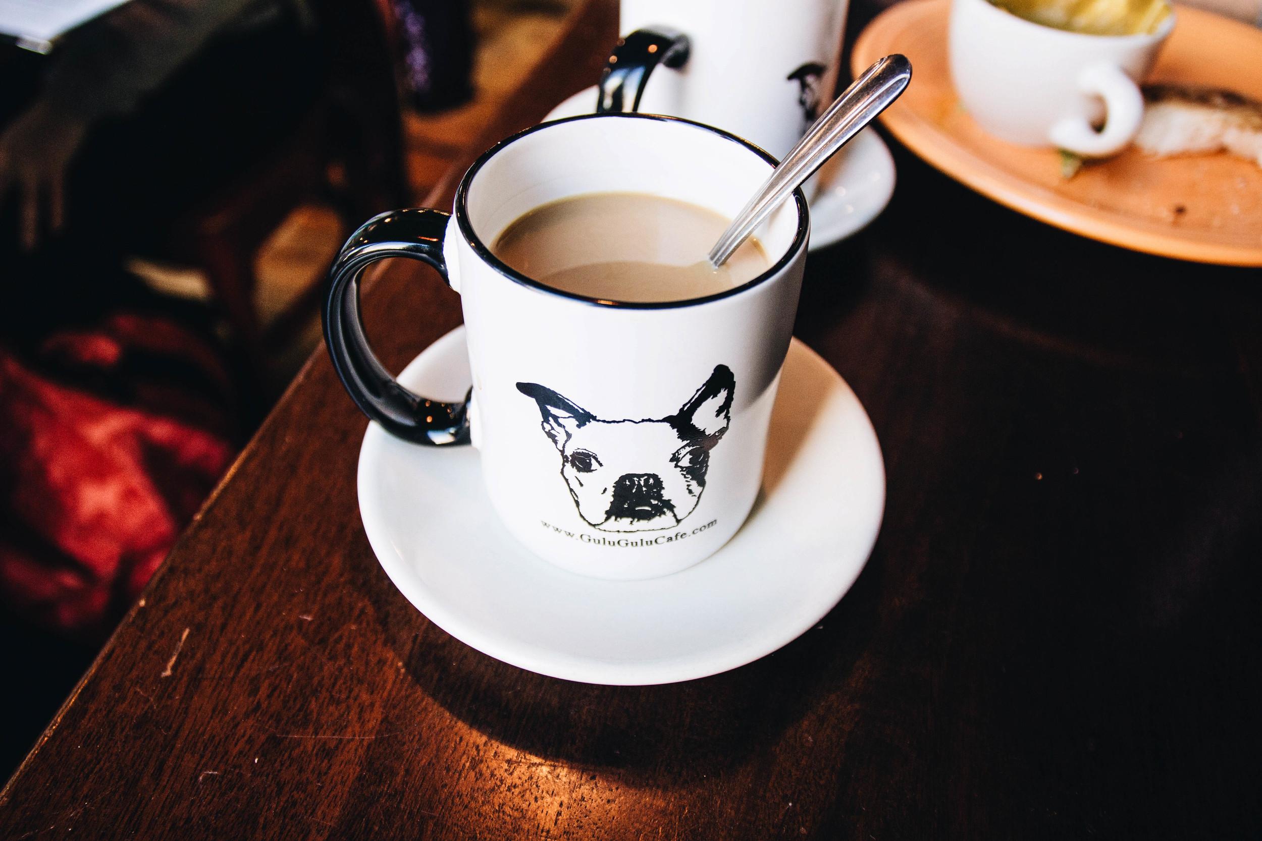 {A cute cup of jo at  Gulu Gulu Café  this weekend}