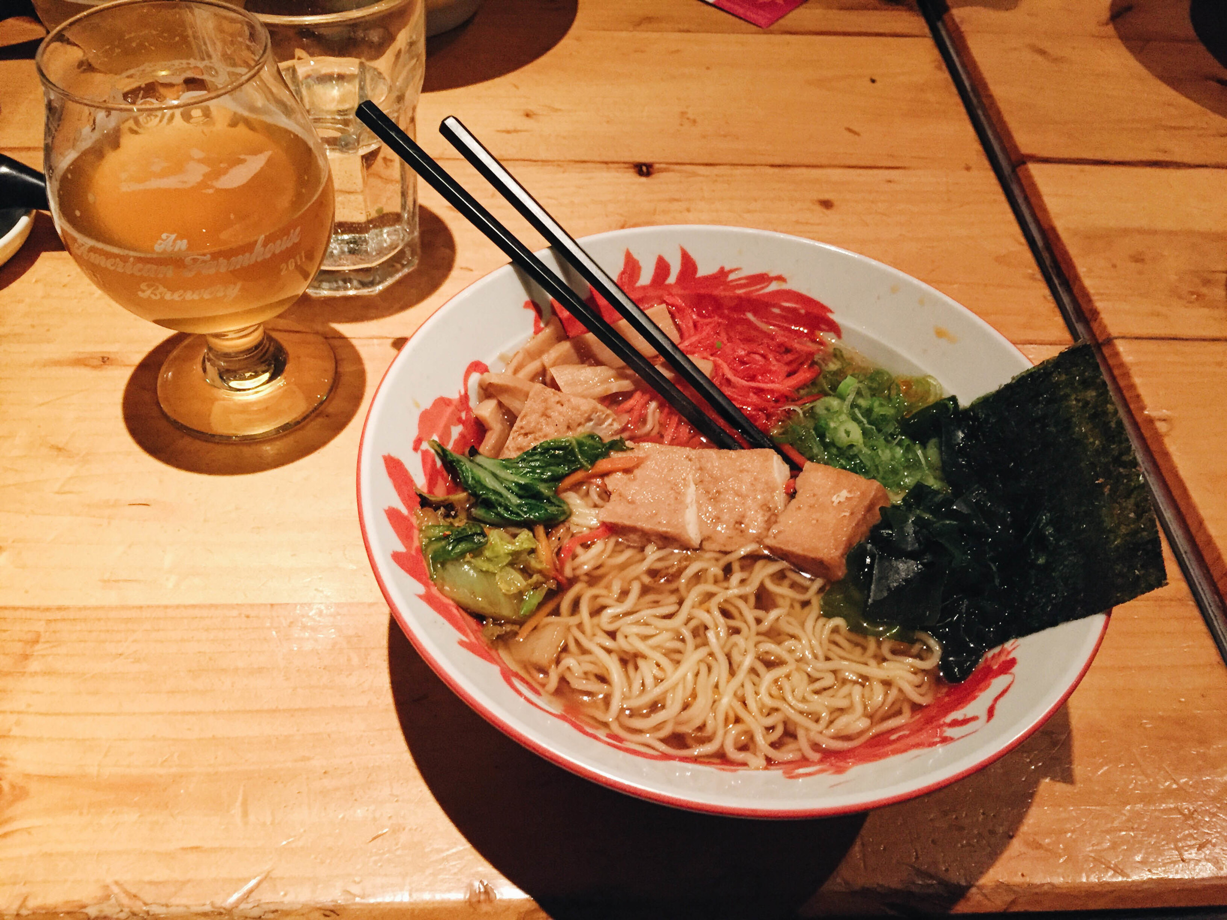 {We had the most delicious dinner in Portland at  Pai Men Miyake }