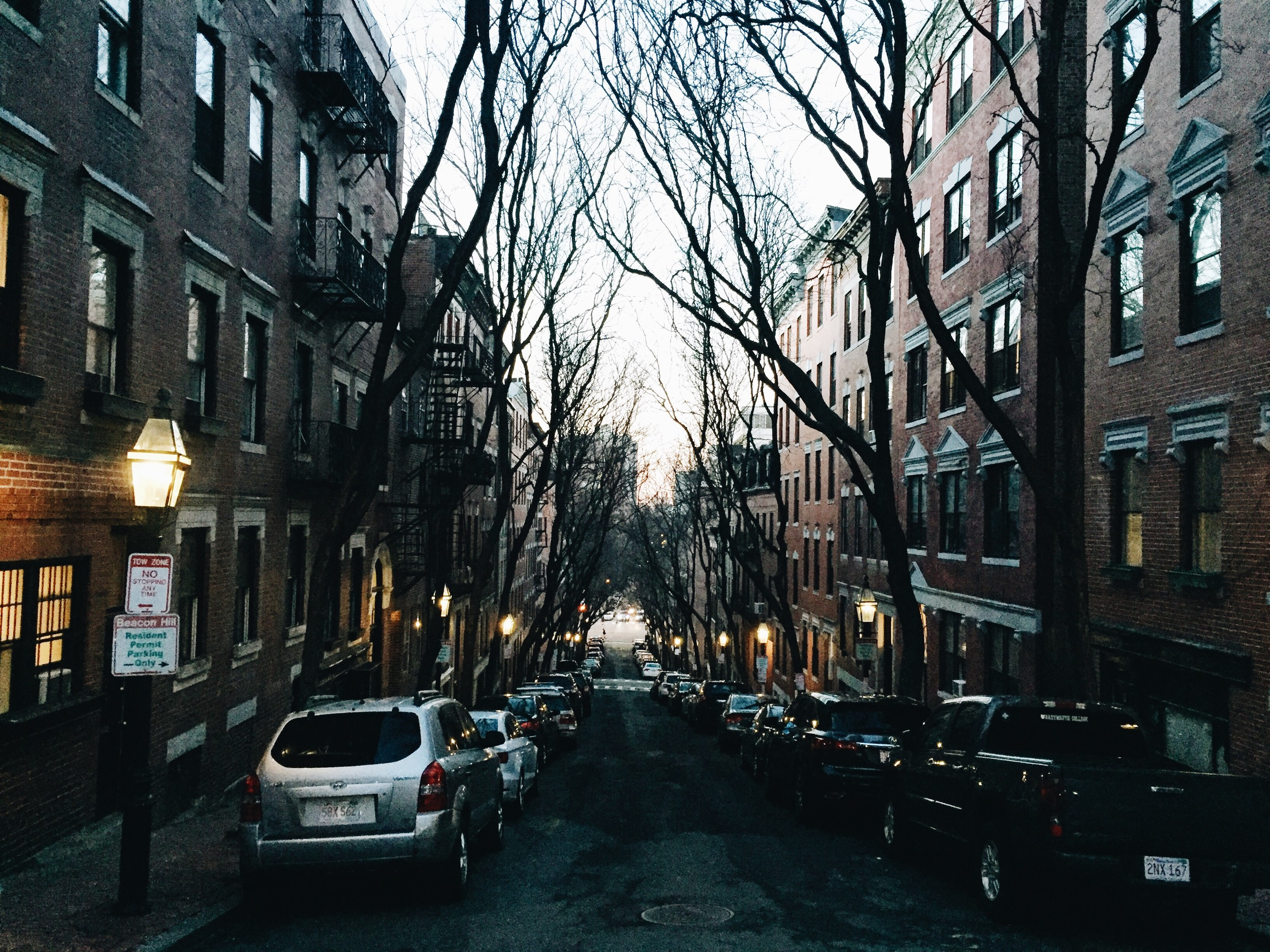 {I love living amongst the gorgeous Beacon Hill Streets}