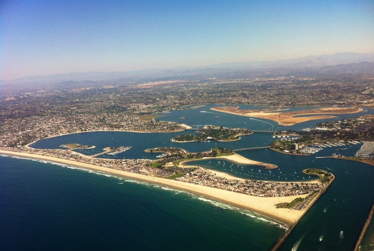 Mission Beach and Bay