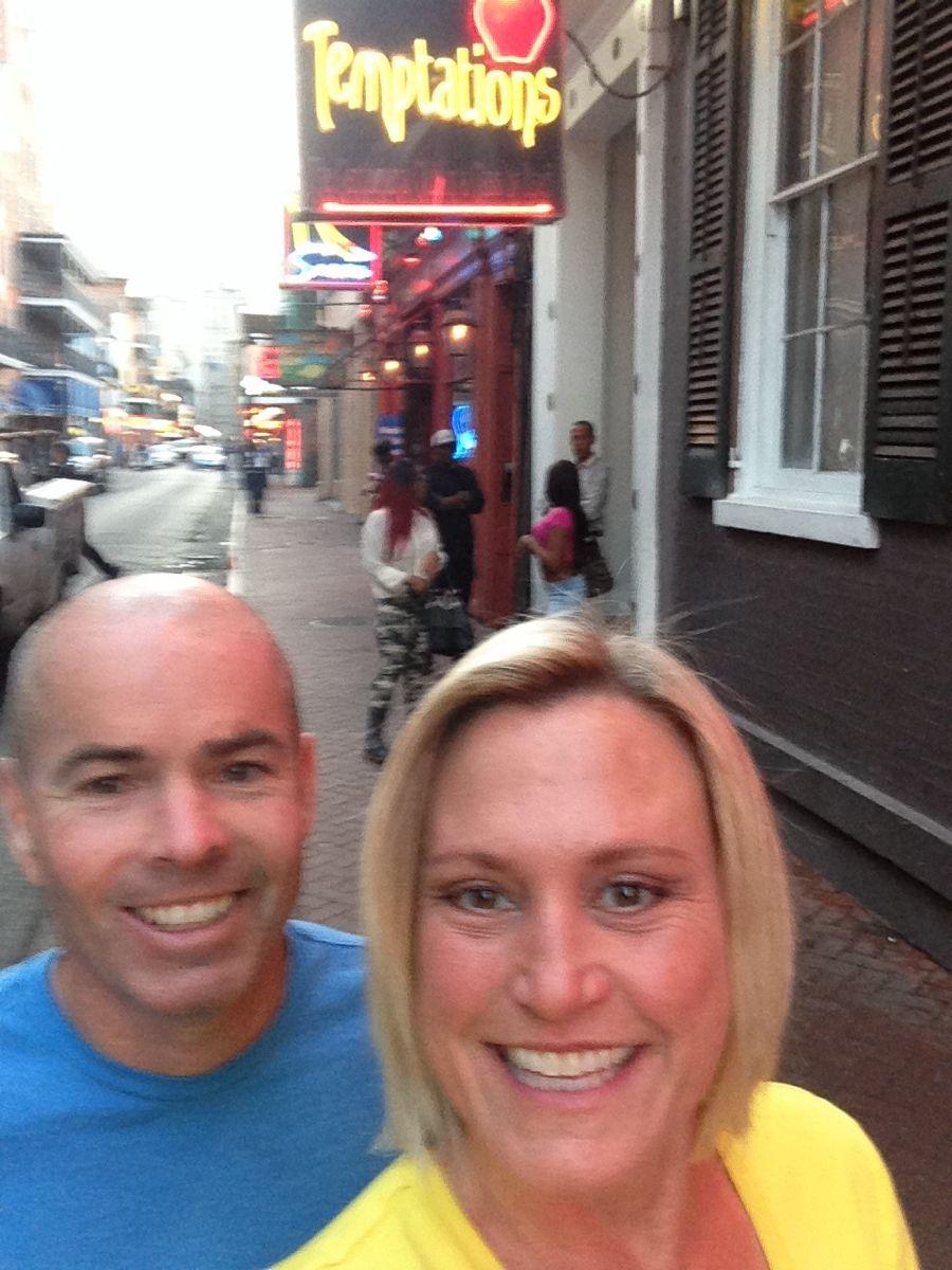 Drinks on Bourbon Street