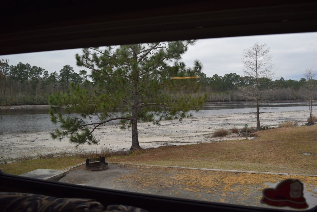 The view from the back window.