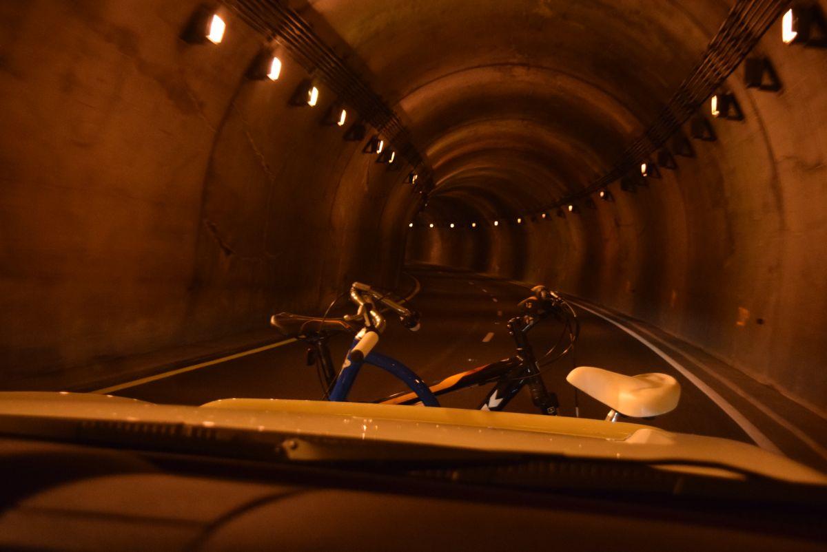 Tunnels make me nervous!