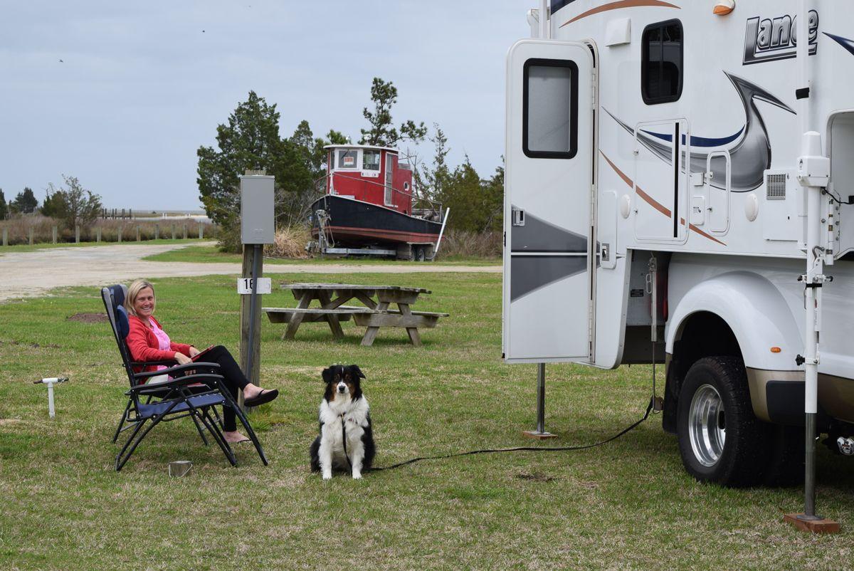 Cedar Creek Campground, NC