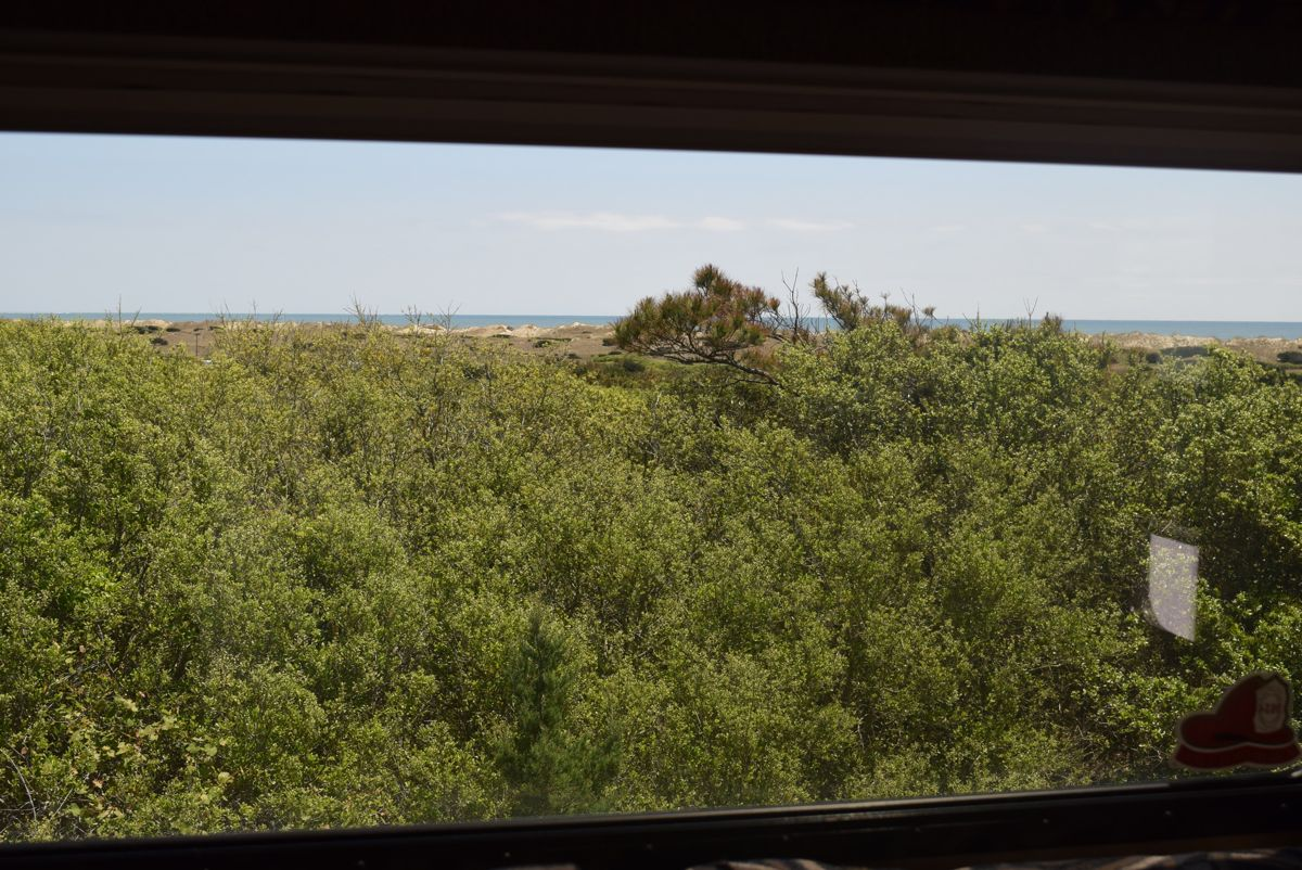 The view from our Frisco Campsite, Hatteras Island.