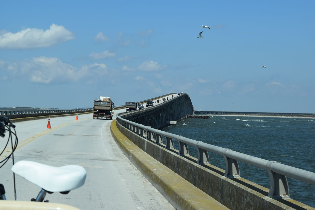 Bridge over the Oregon Inlet, connecting Hatteras to Nags Head.