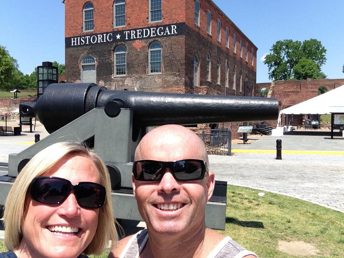 At the Civil War Museum.