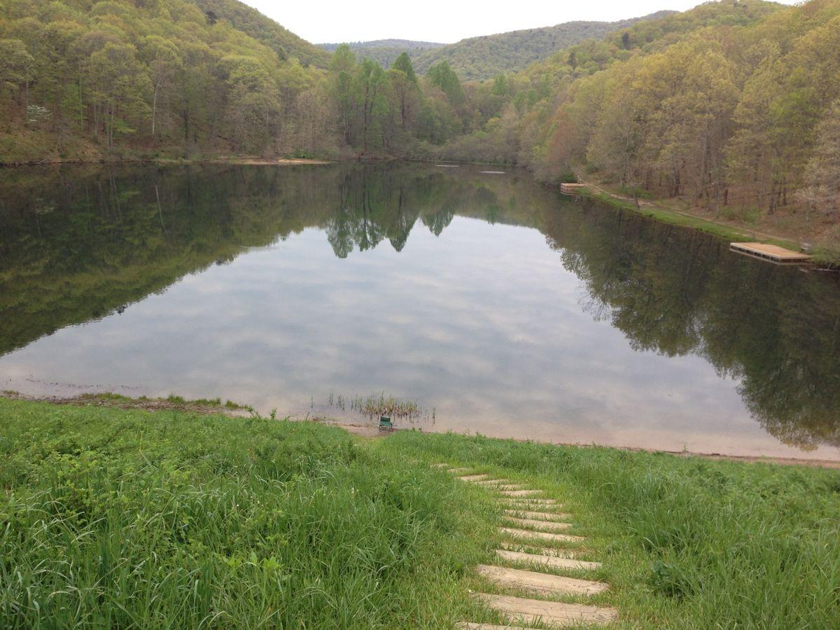Little Sherando Lake.