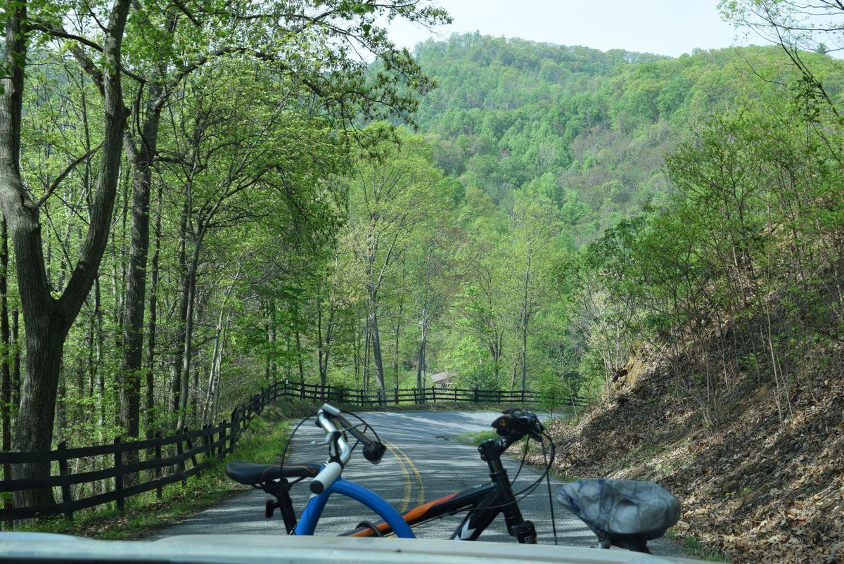 A beautiful drive through The Appalachians.