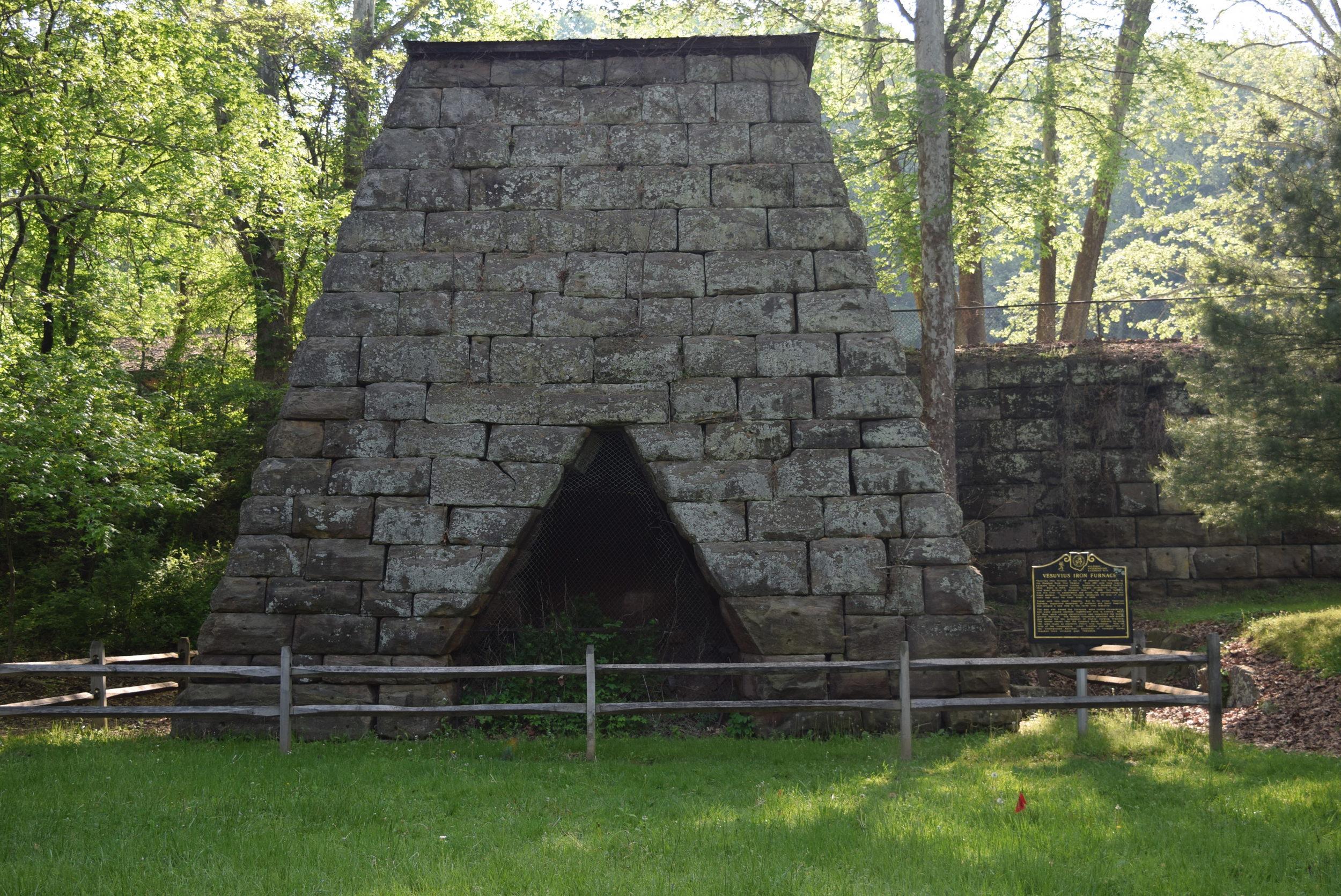 The Vesuvius iron furnace