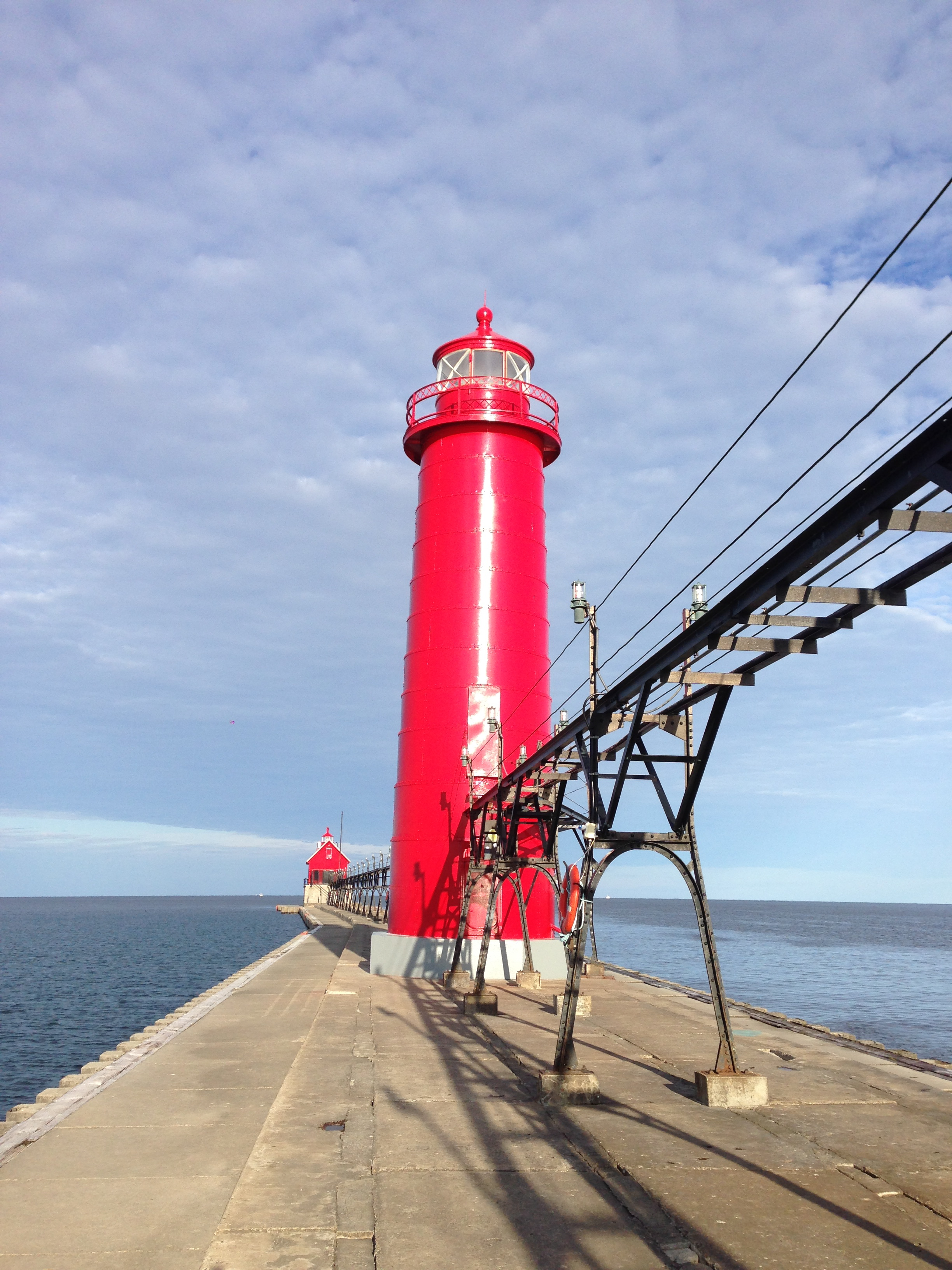 Checked out the lighthouse while on a run.