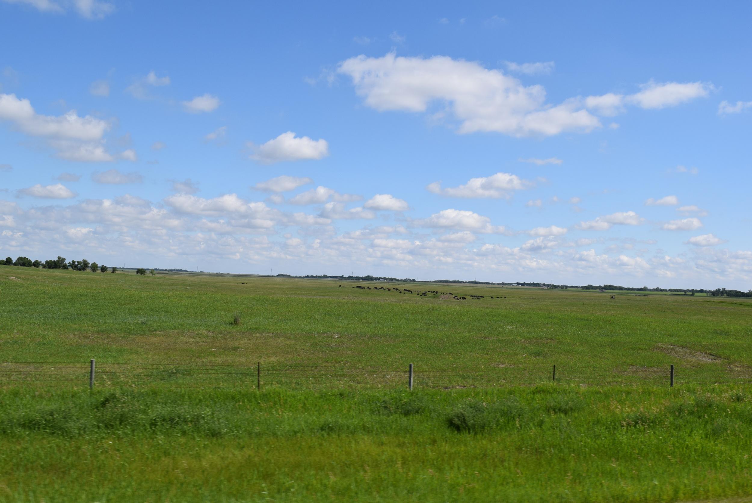 The South Dakota prairie.