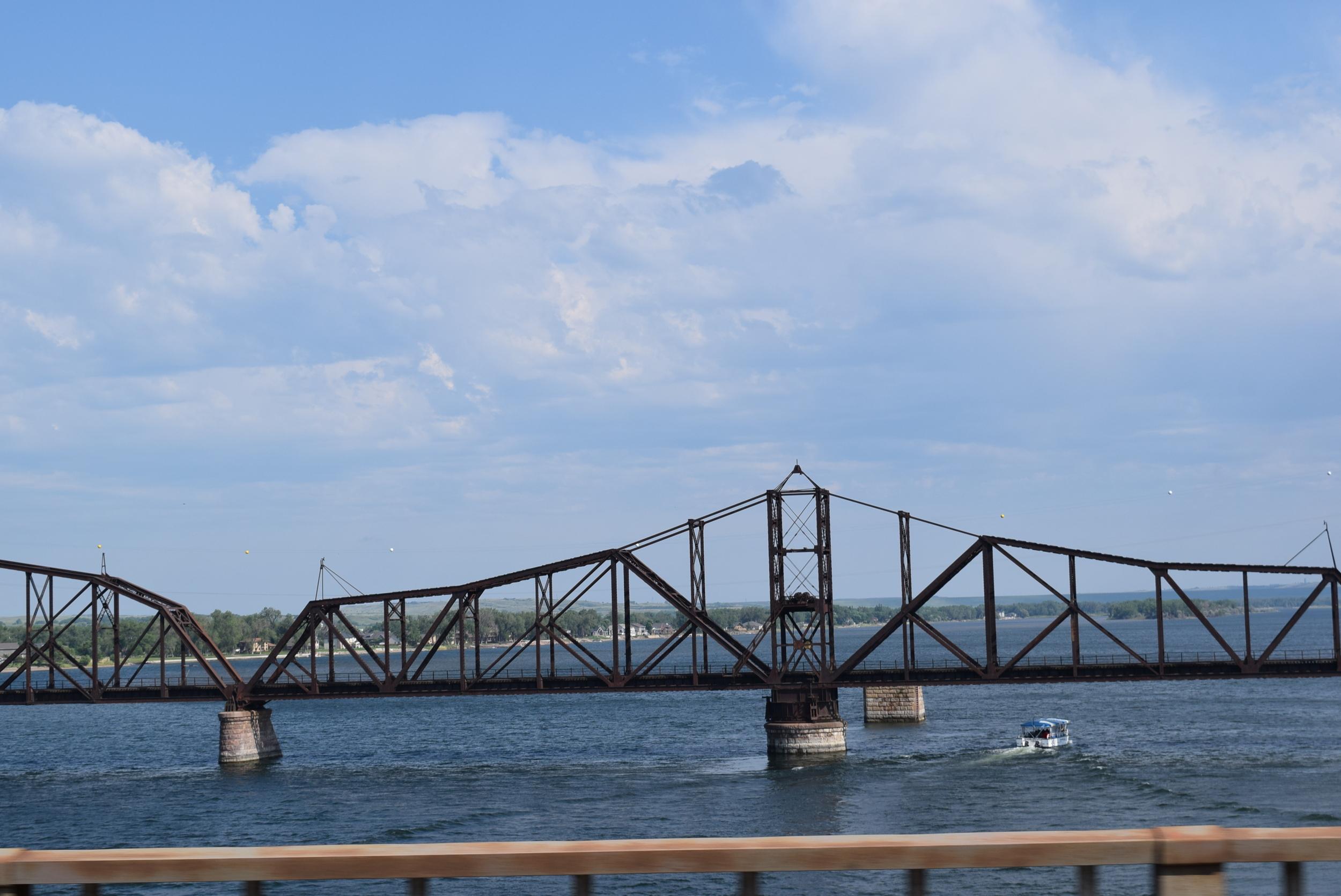 The Missouri River in Pierre, SD.