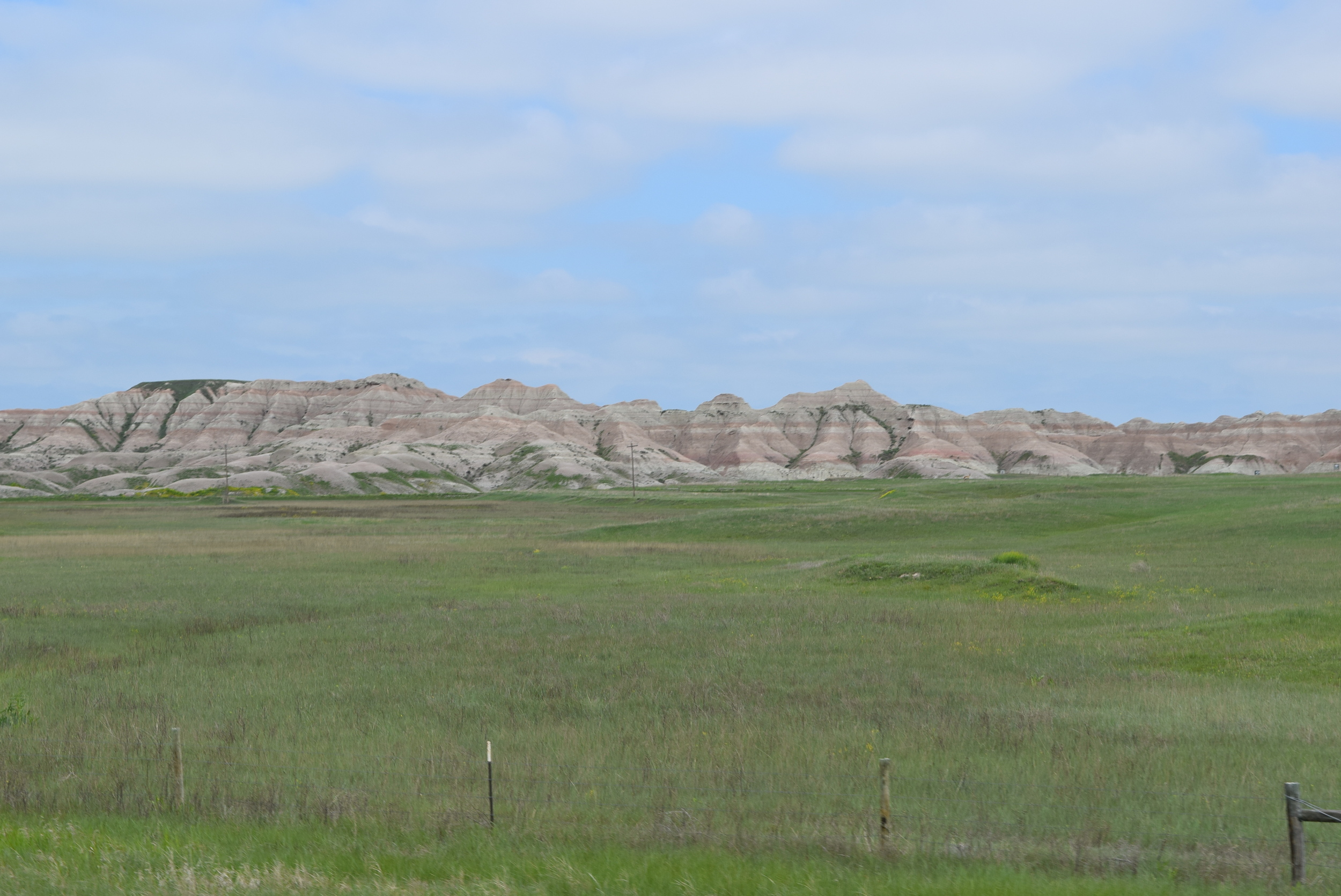 The Badlands, SD.