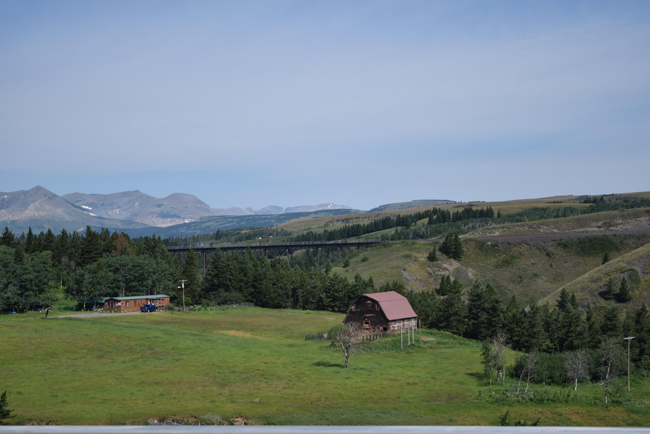 Montana countryside.