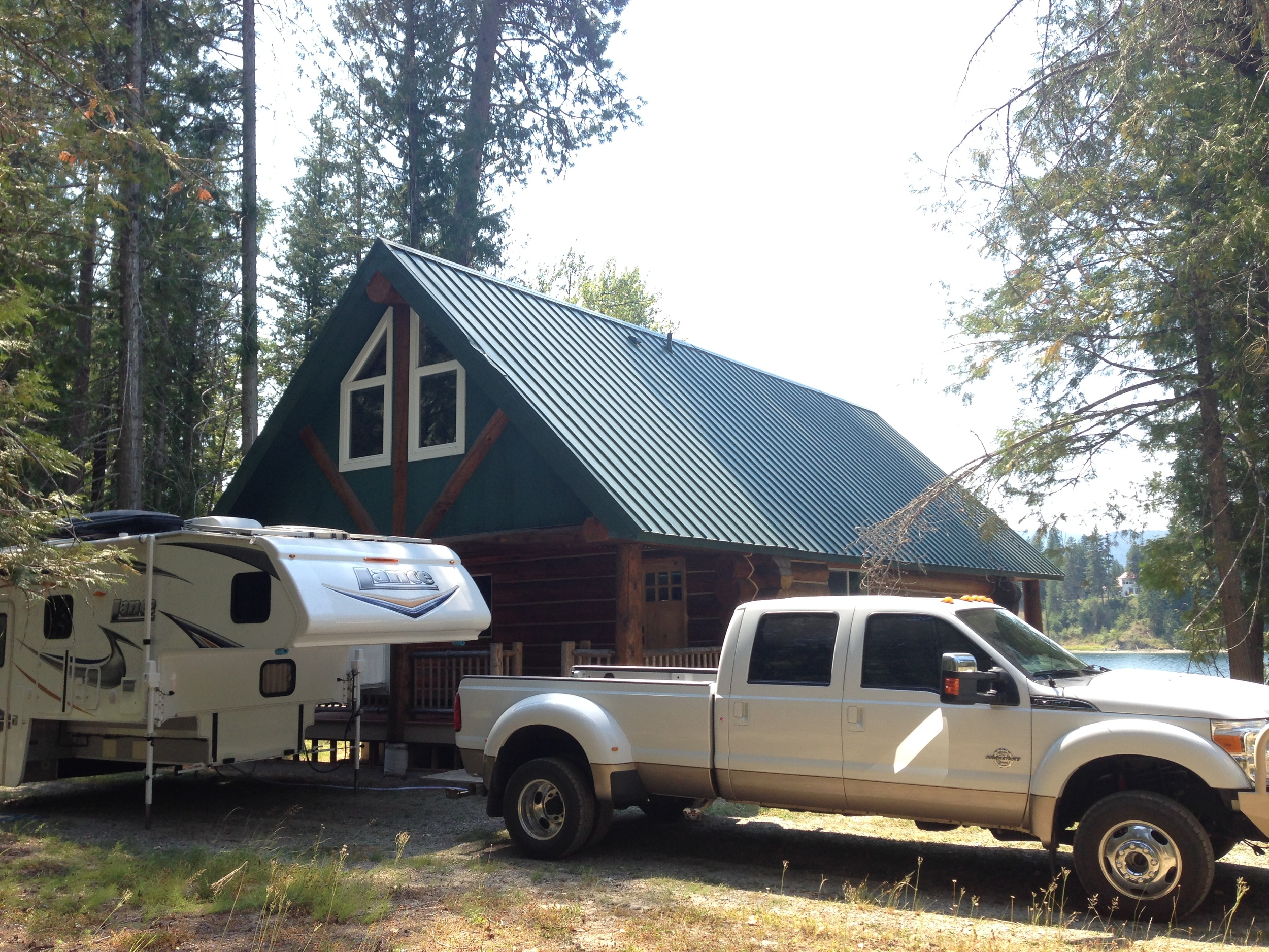 Still camping while in escrow. So close!