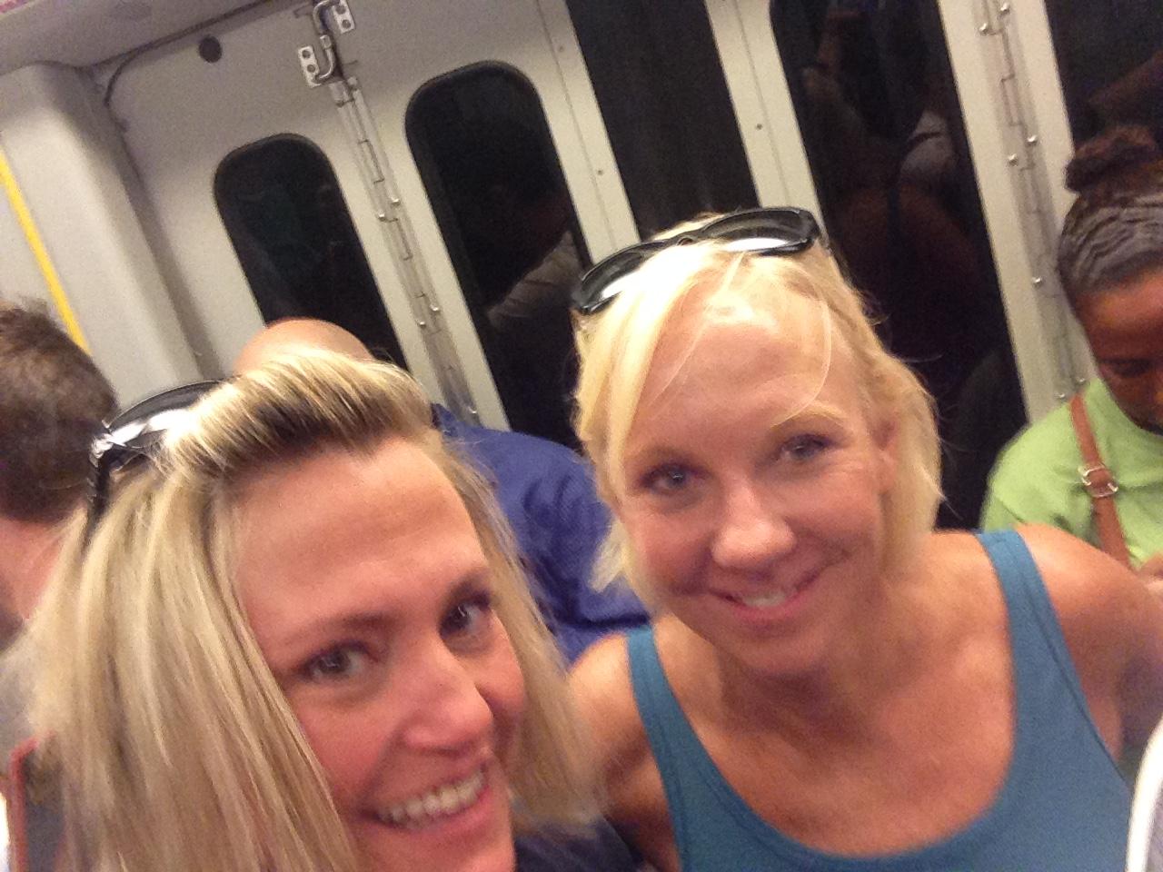 Like sardines on the subway!