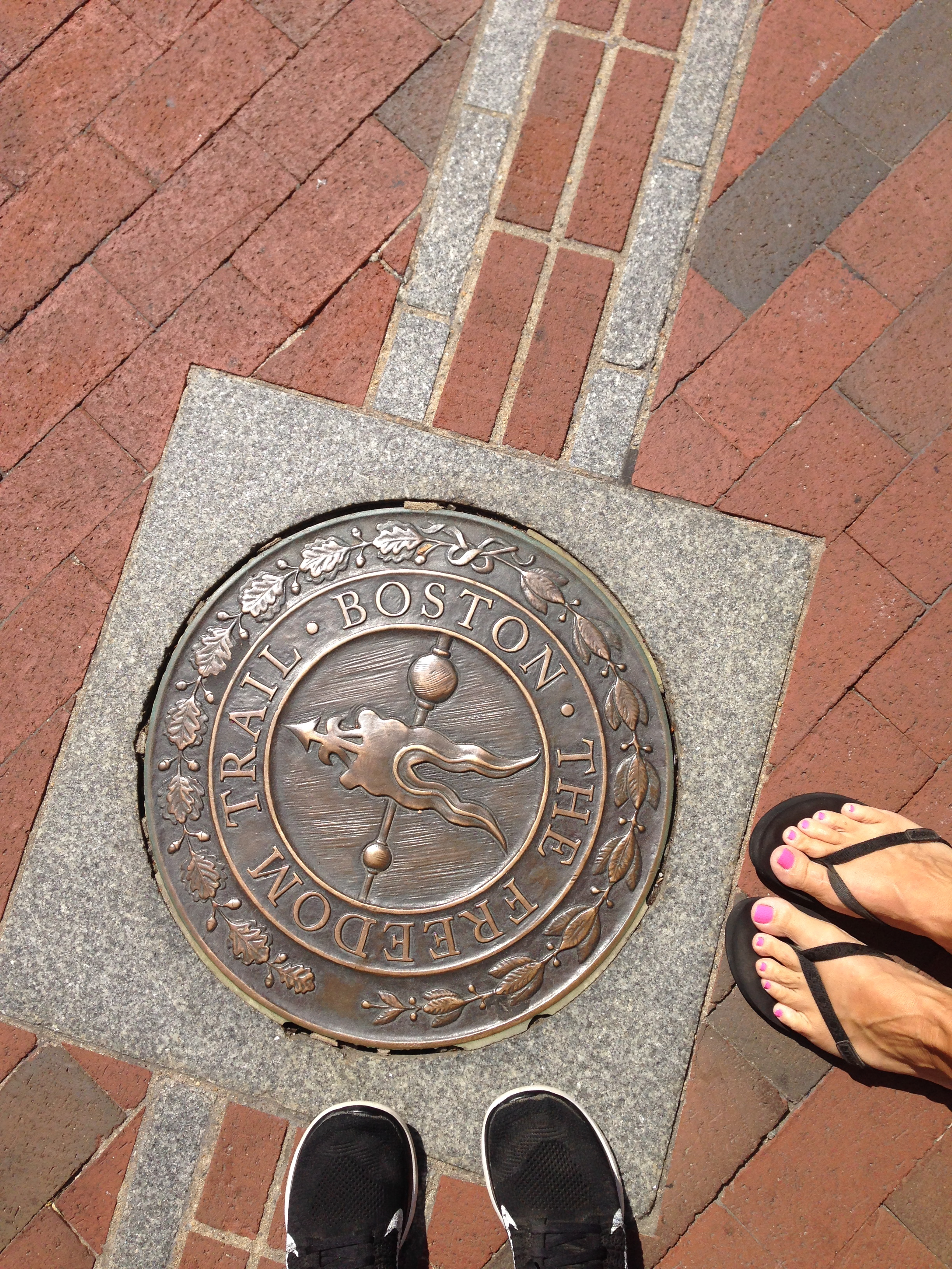 We even saw some historical sights. It's amazing how many bars are along the Freedom Trail!