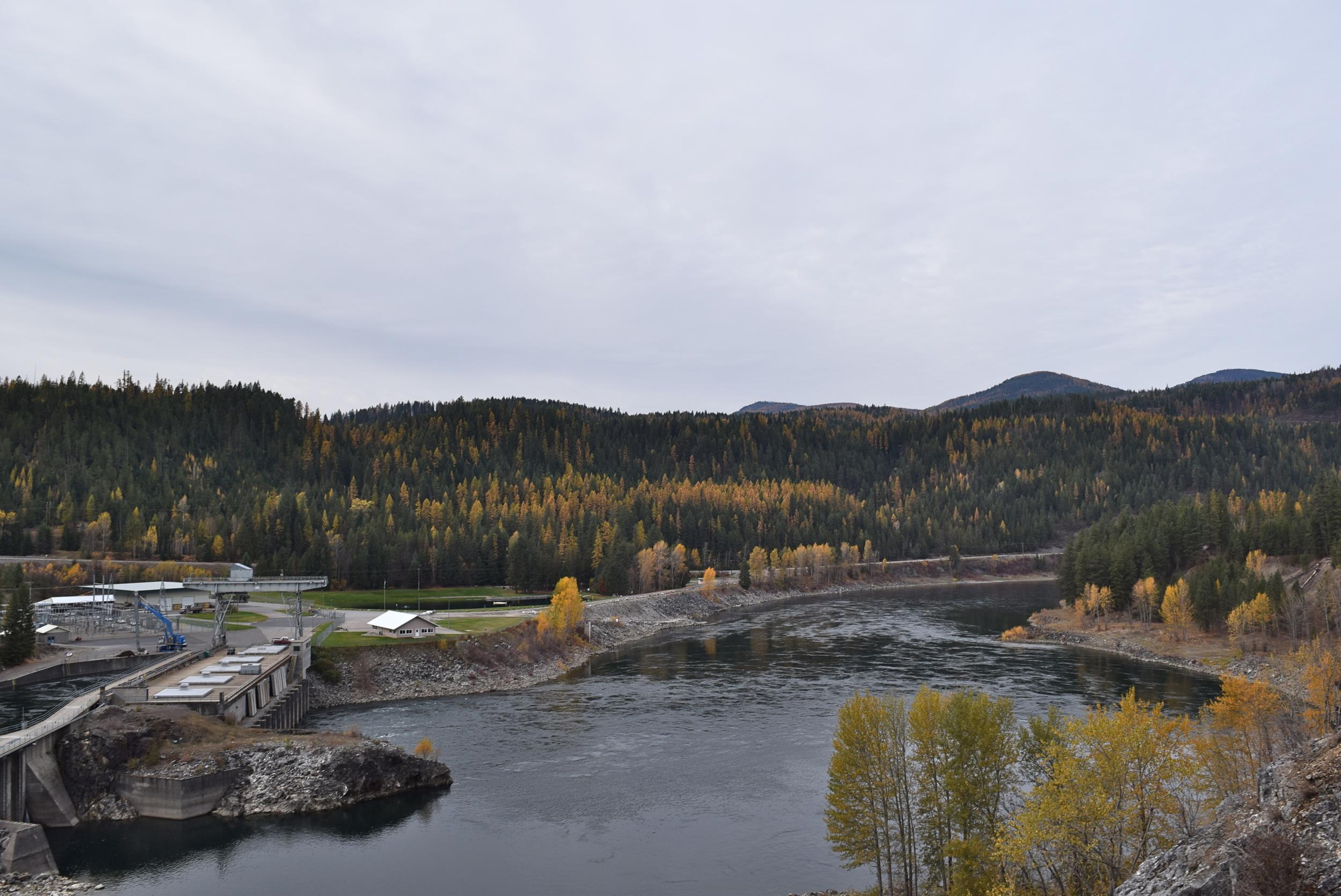 The Box Canyon Dam.