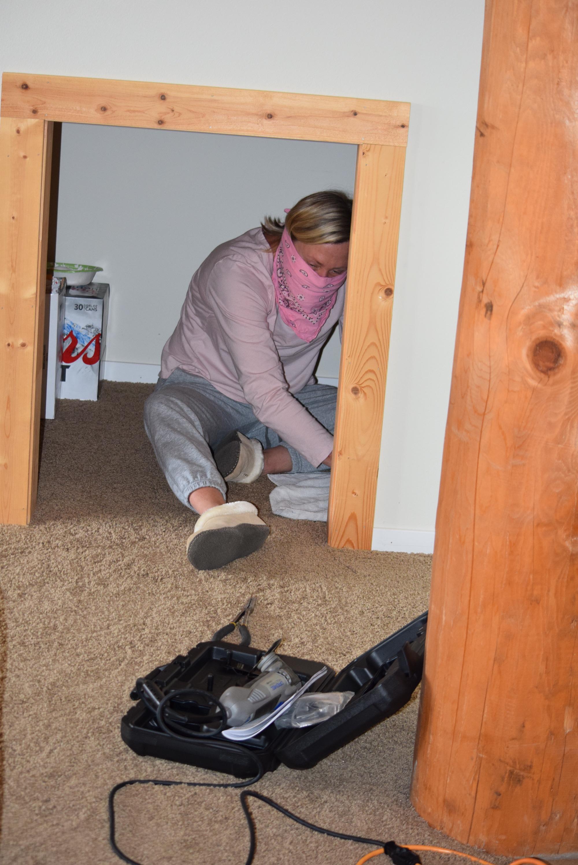 Excavating mice.